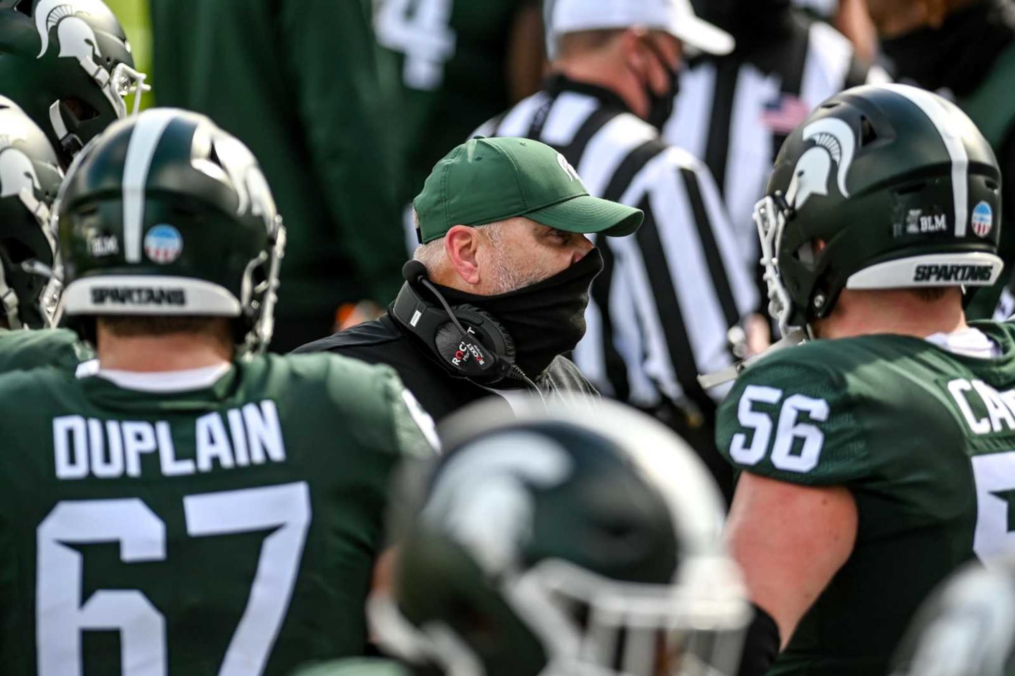 Michigan State football: Will offensive line put it all together in 2021?