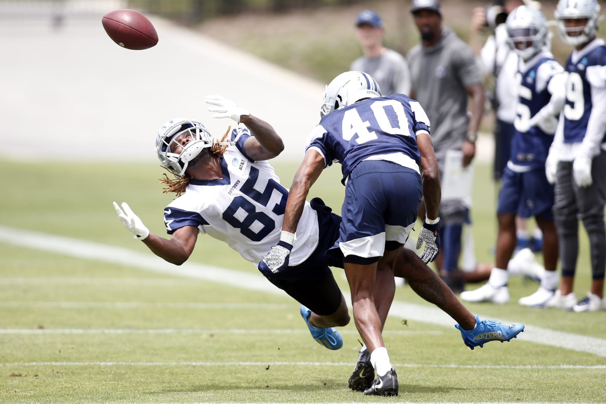 Dallas Cowboys Camp: Nahshon shines, Gregory pops, fitness prevails