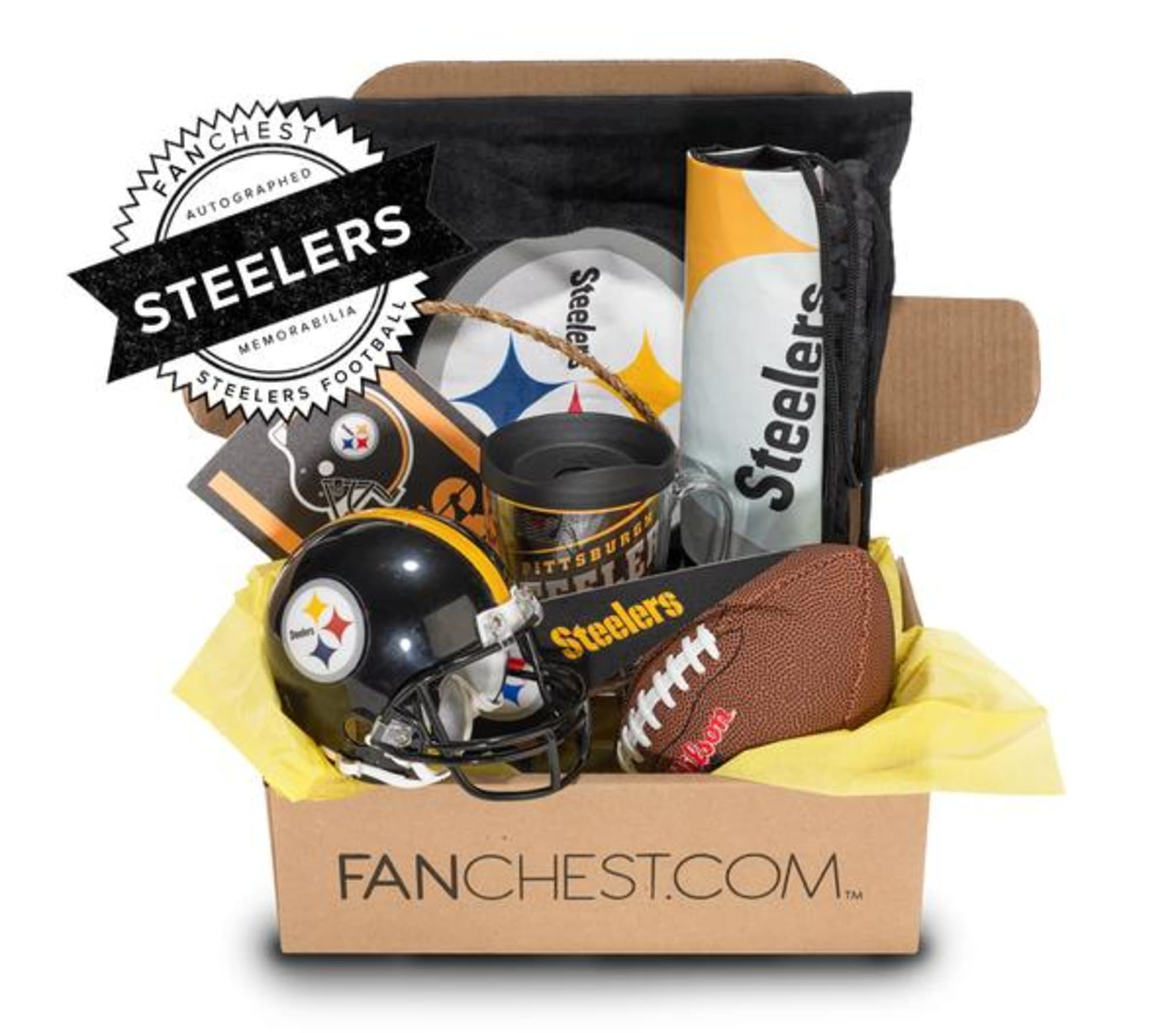 A Pittsburgh Steelers Fanchest is the