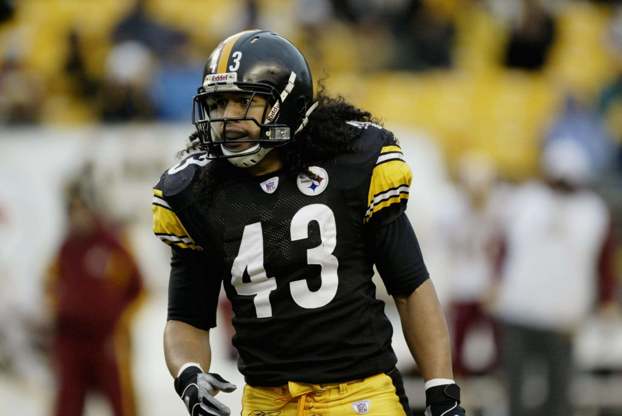Steelers legend Troy Polamalu goes 4th overall in 2003 NFL re-draft