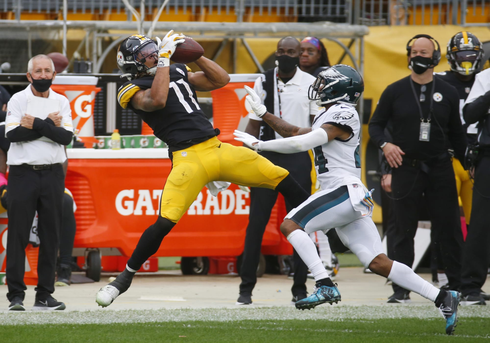 Steelers WR Chase Claypool is having a Martavis Bryant-like start to his NFL career