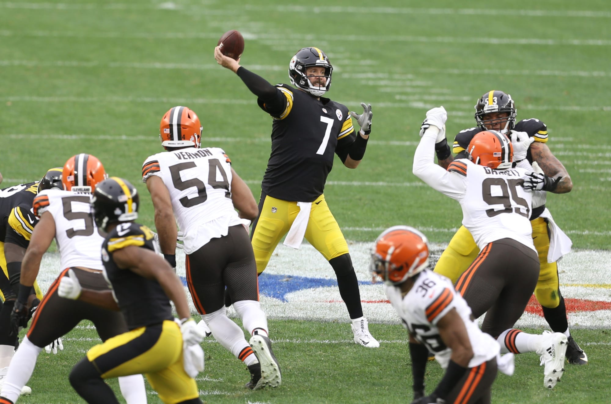 Impressive numbers from Steelers blowout win over Browns