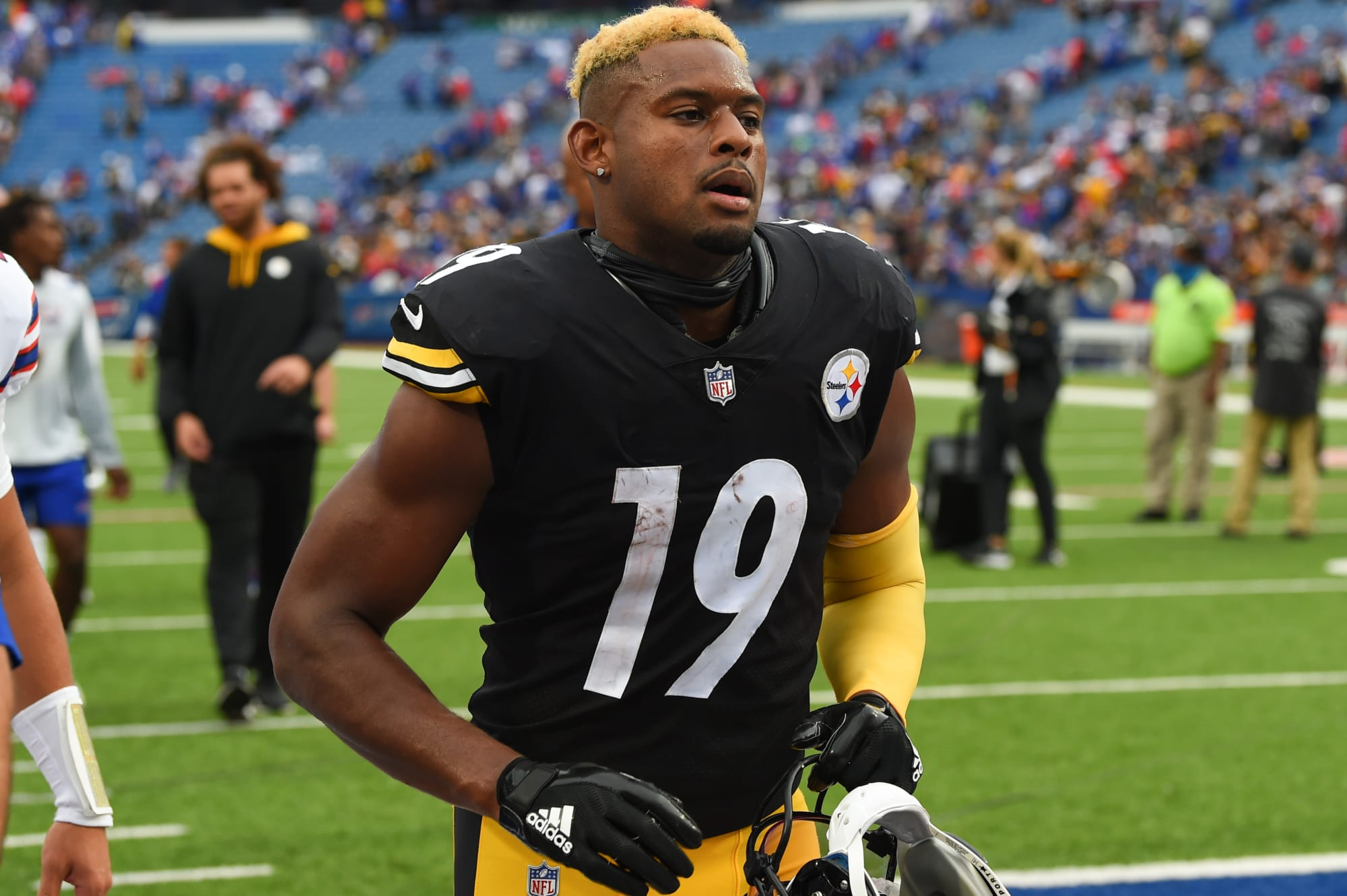 Are the Steelers misusing their wide receivers in 2021?