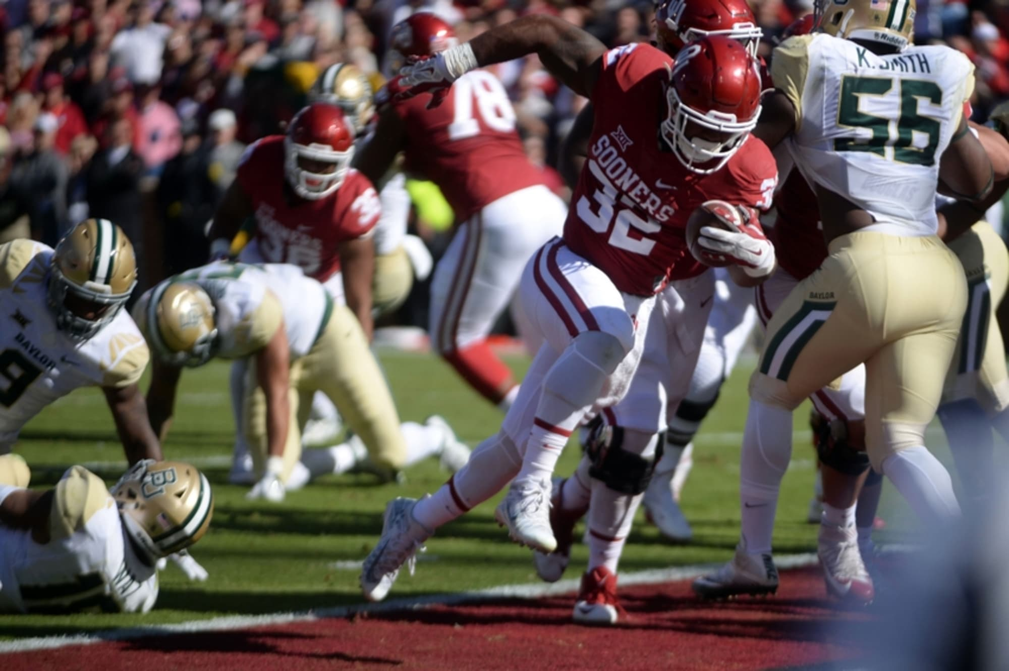 Oklahoma Football Point After Takeaways From Saturday S Bear Hund