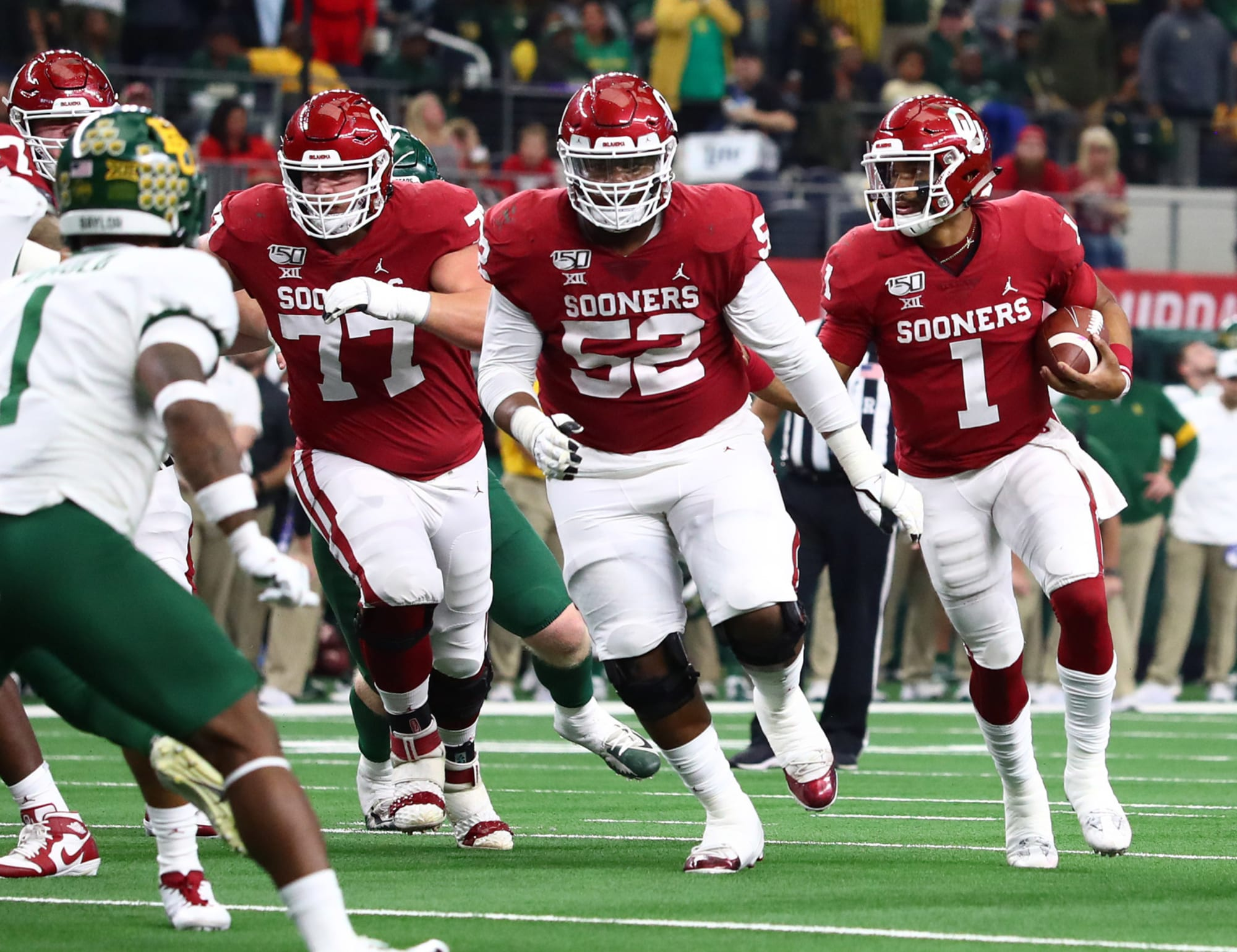 Oklahoma football: Strong O-line key to Sooners' offensive success