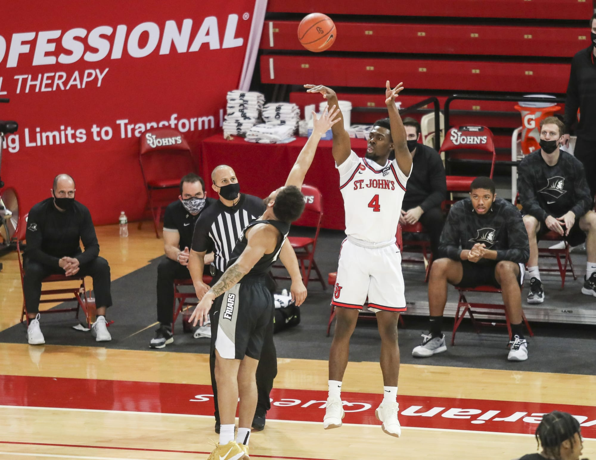 St. John's basketball guard Greg Williams Jr. is heading home