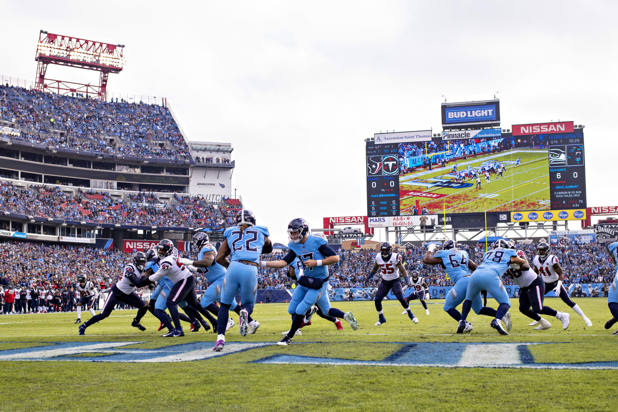 Do the Tennessee Titans have the best trio in the NFL?