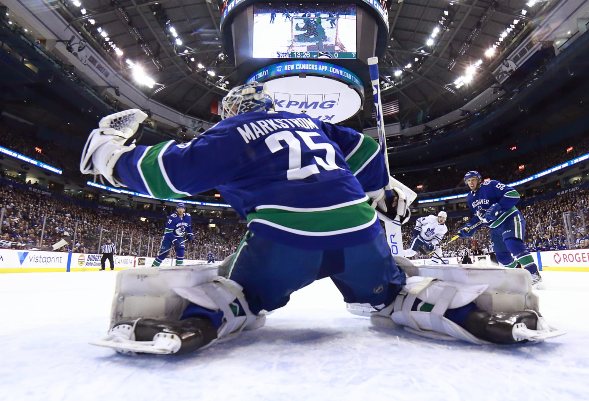 Vancouver Canucks Jacob Markstrom Most Underrated Goalie In The Nhl
