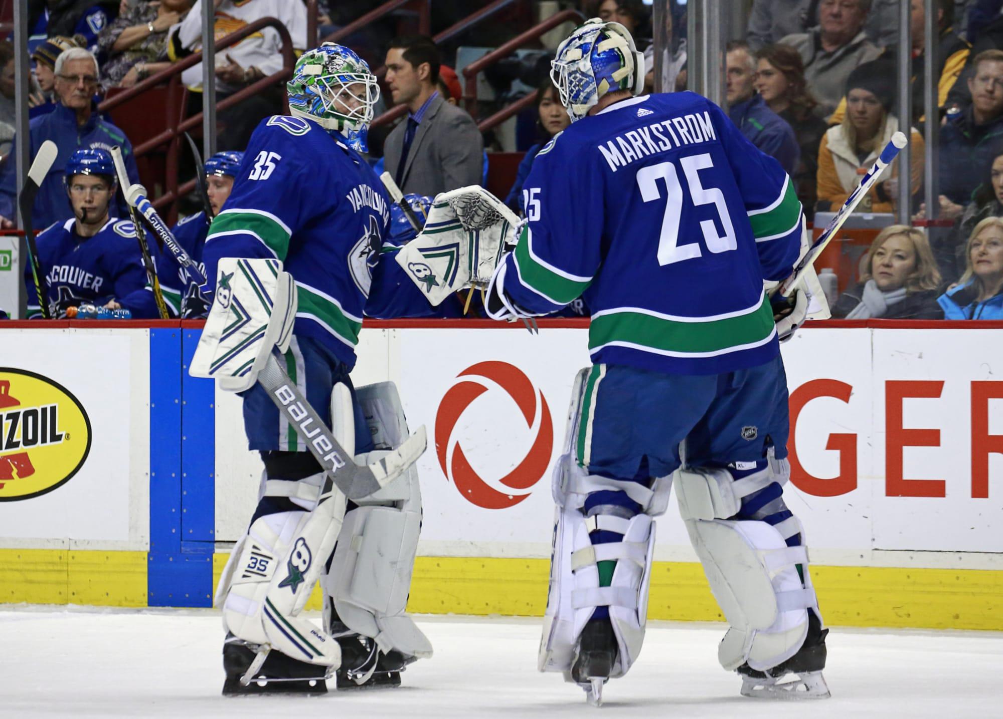 Vancouver Canucks Should Jacob Markstrom And Thatcher Demko Split Starts