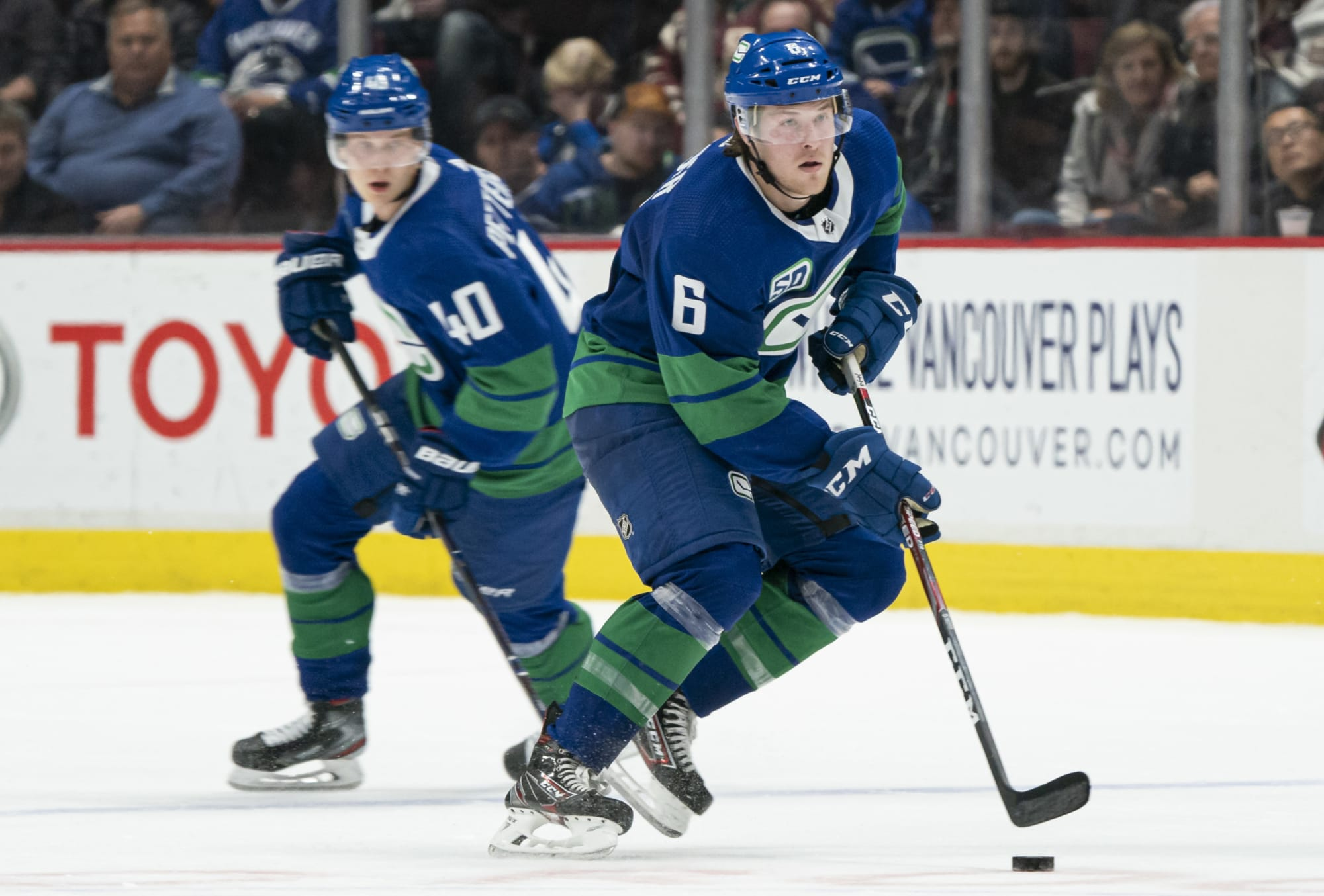 Canucks: Elias Pettersson and Brock Boeser return to Rogers Arena