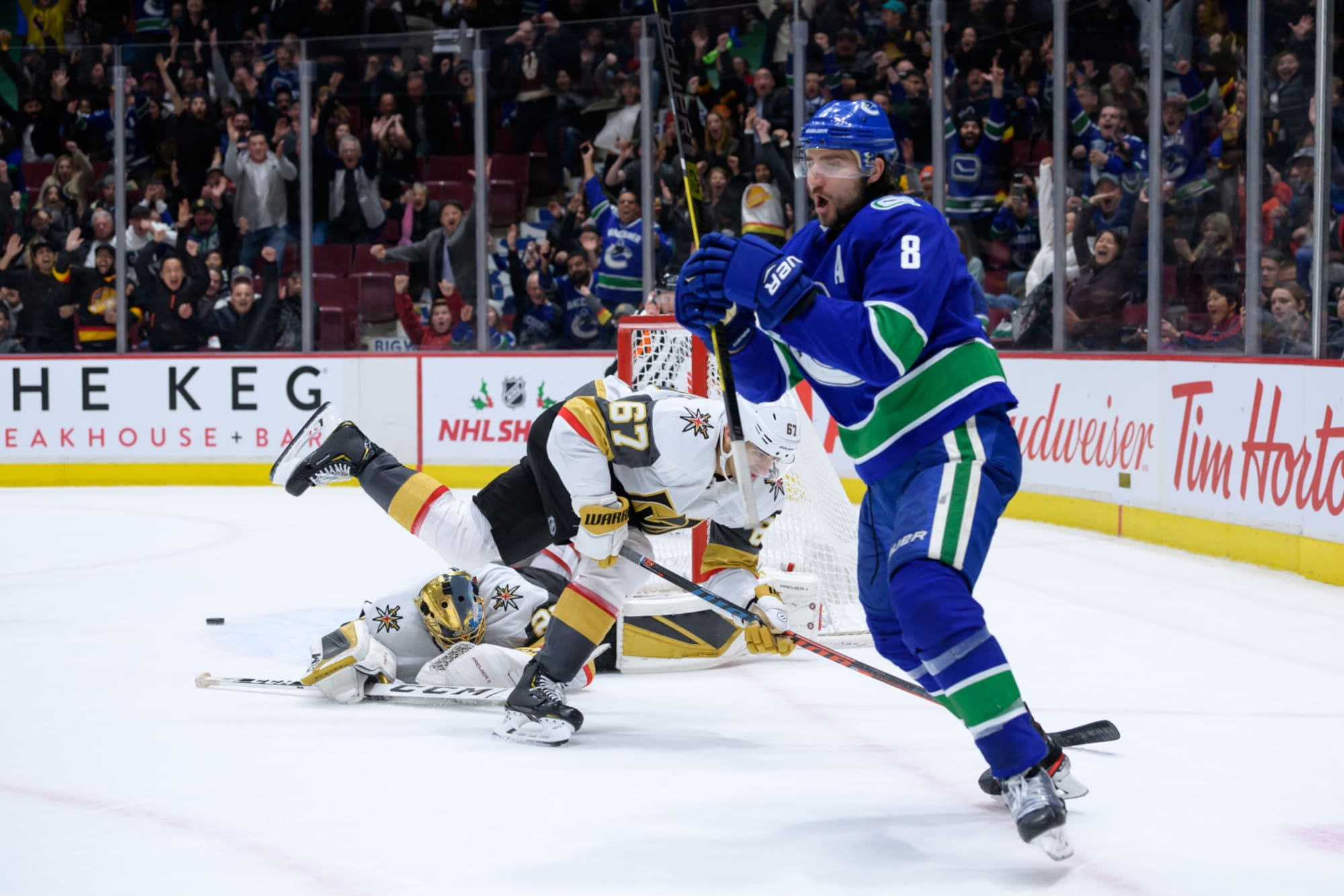 Ranking possible Canucks playoff opponents: No. 3 Golden Knights