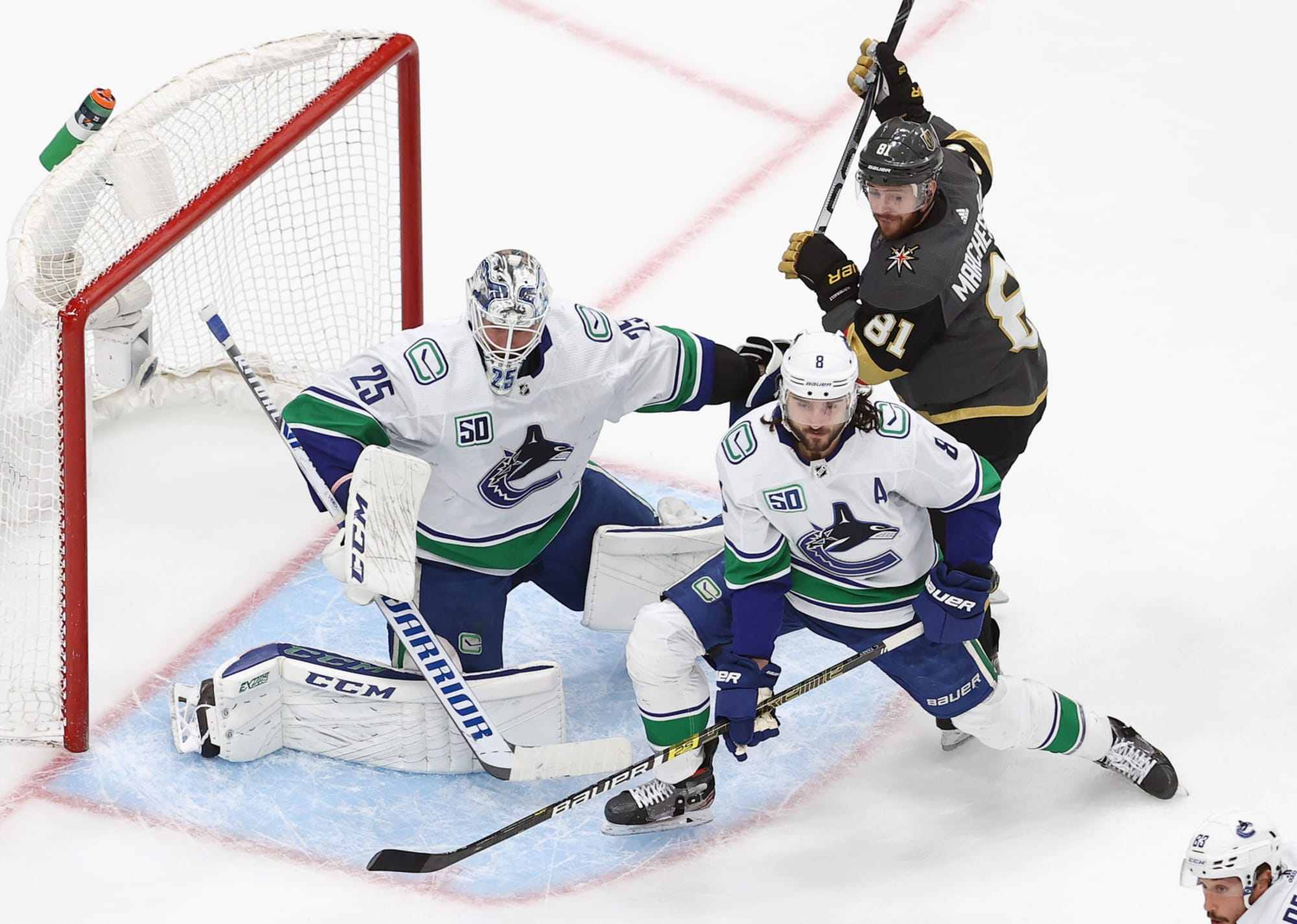 Canucks Jacob Markstrom Can Steal The Series Vs Golden Knights