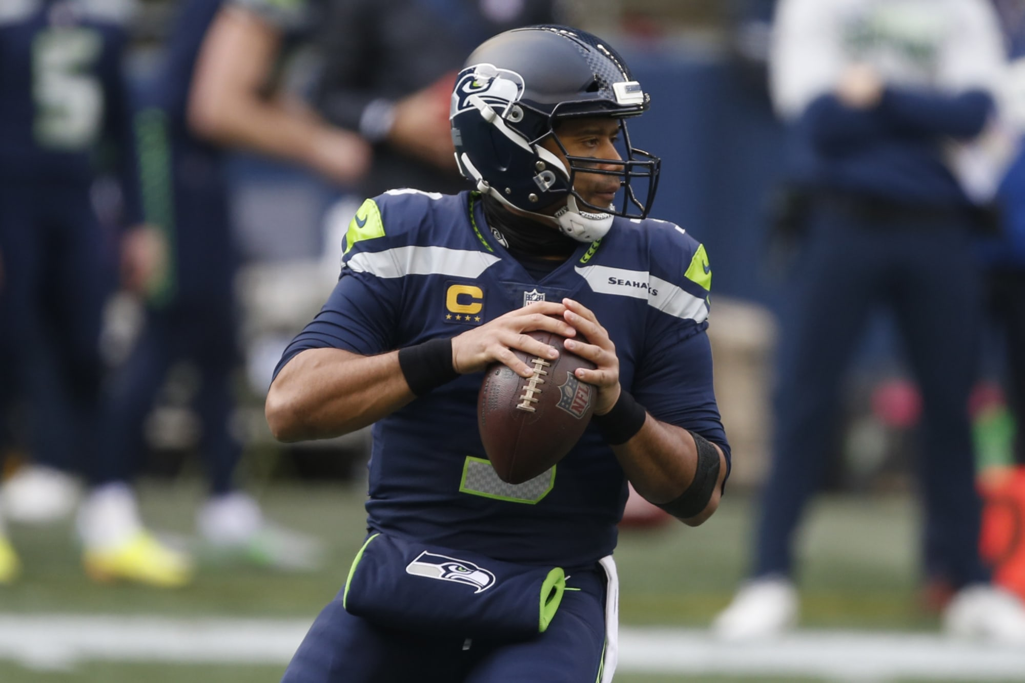 NY Jets among teams linked to possible Russell Wilson trade