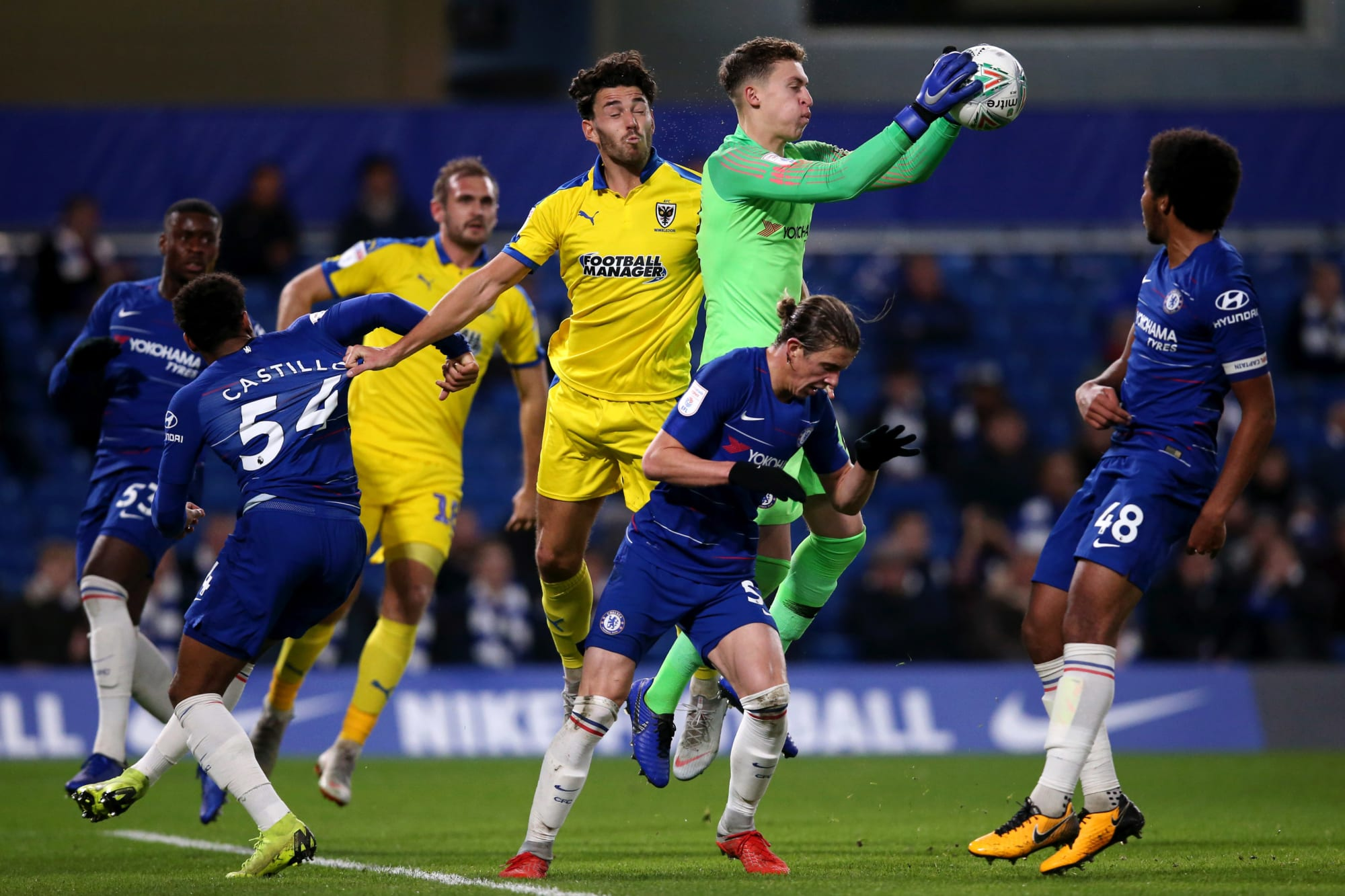 Chelsea can look to the academy if they cannot buy a keeper