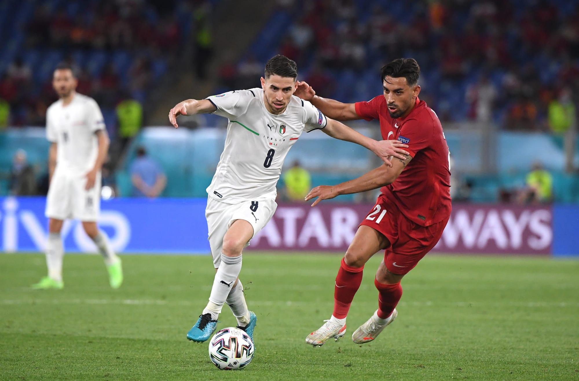 Chelsea's Jorginho picks up right where he left off against Turkey