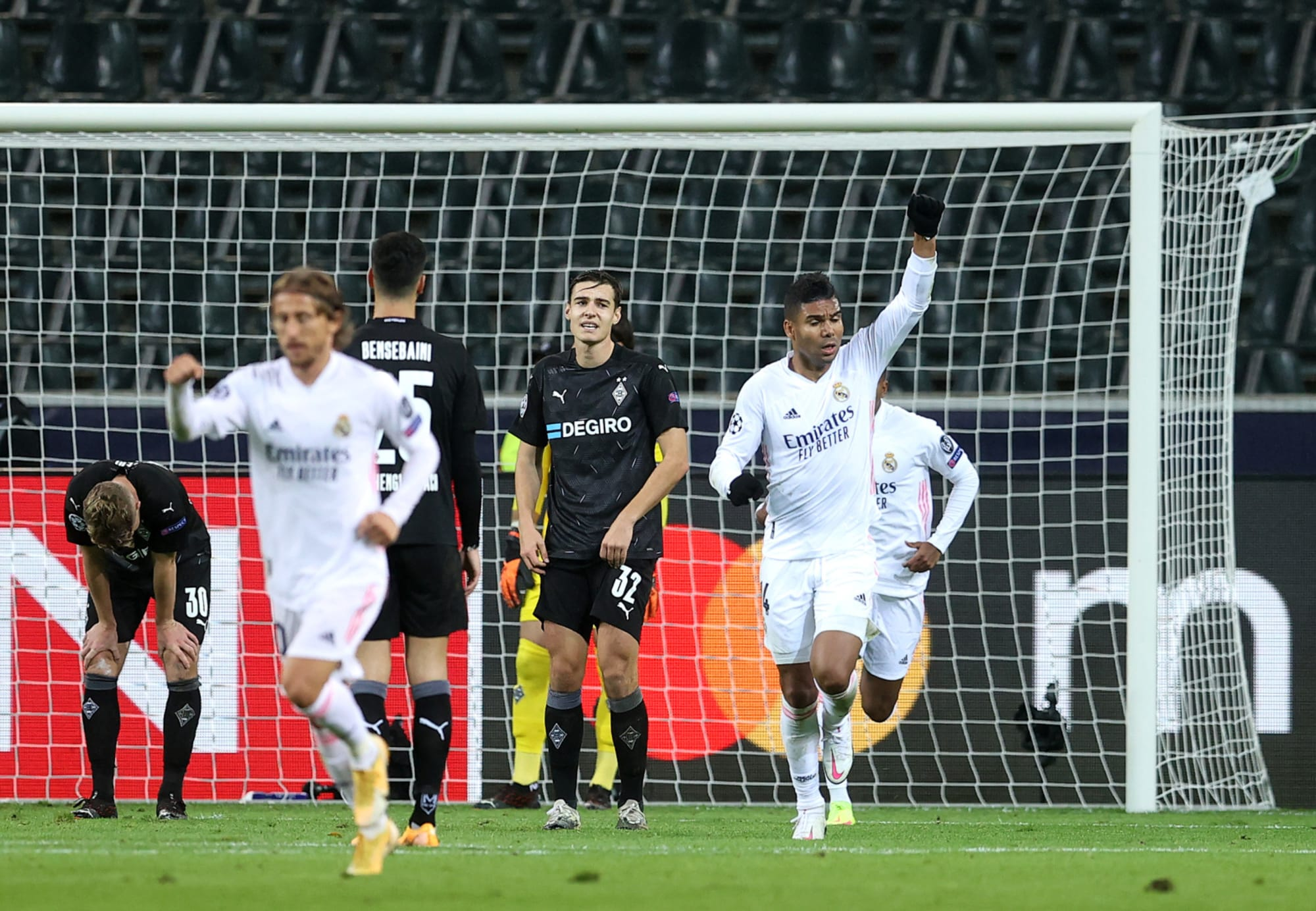 Real Madrid player ratings from the draw against Borussia Monchengladbach in Champions League