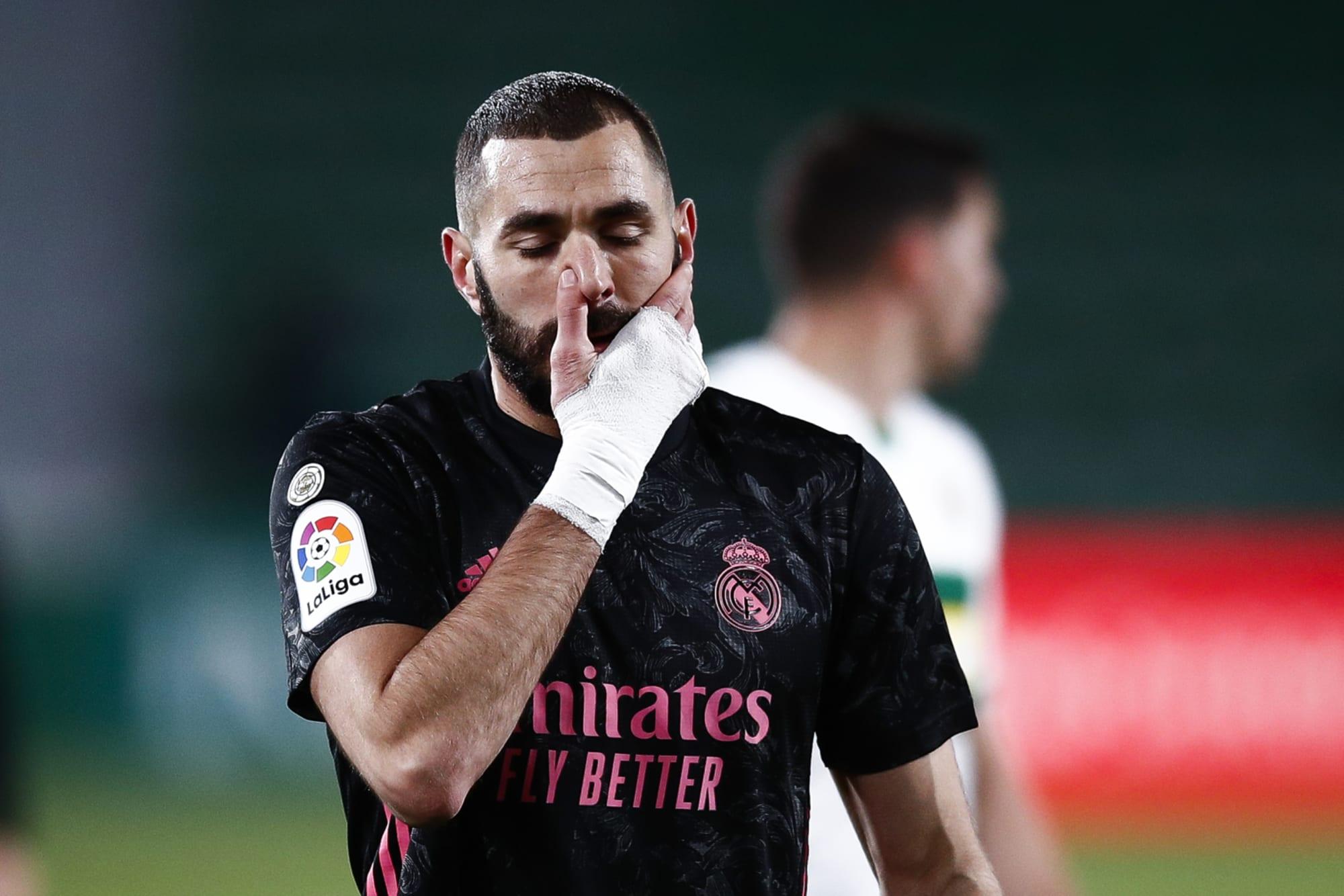 Could Karim Benzema miss Real Madrid's match at Getafe?
