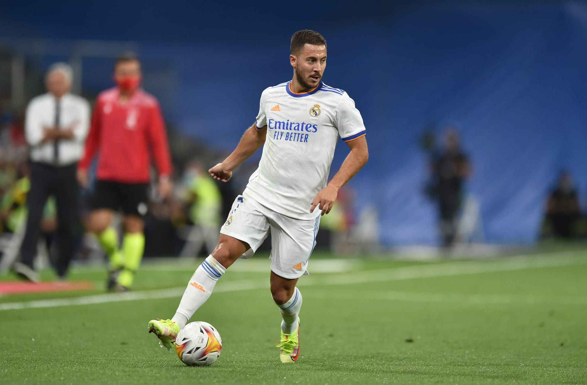 Eden Hazard has a unique role on the right side of Real Madrid's attack
