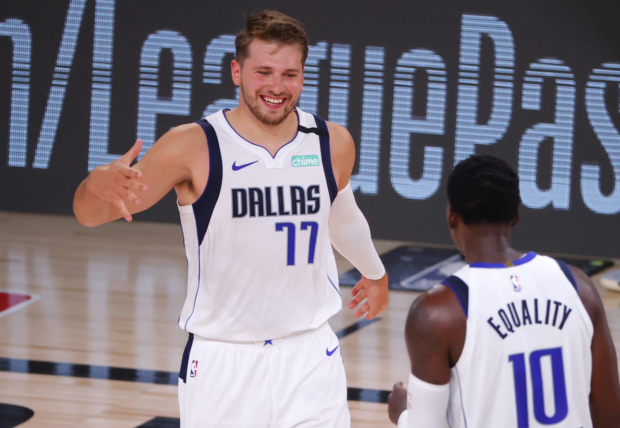 Mavericks: Luka Doncic produced one of the best assists of the season