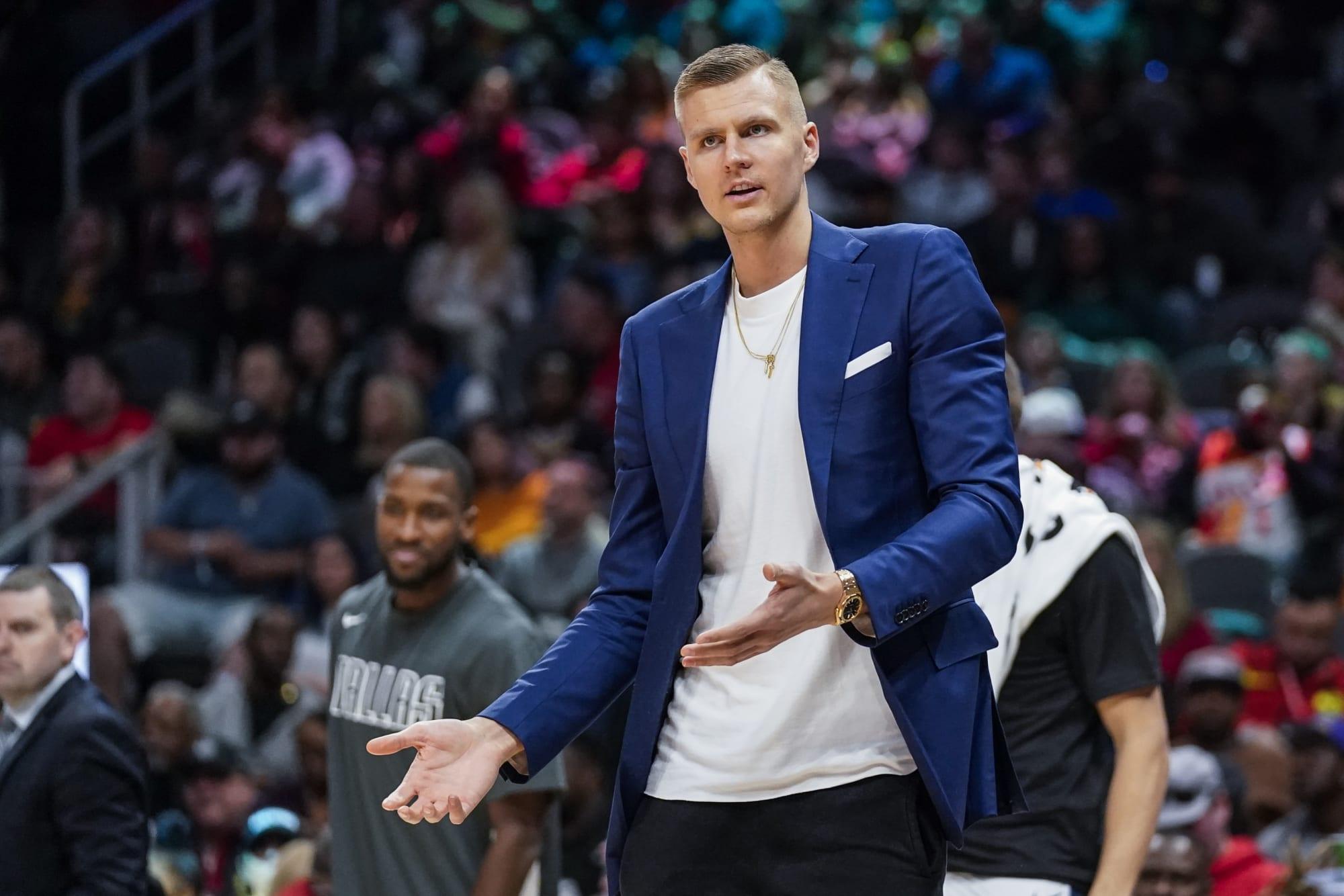 Dallas Mavericks cannot wait to get Kristaps Porzingis back on the court