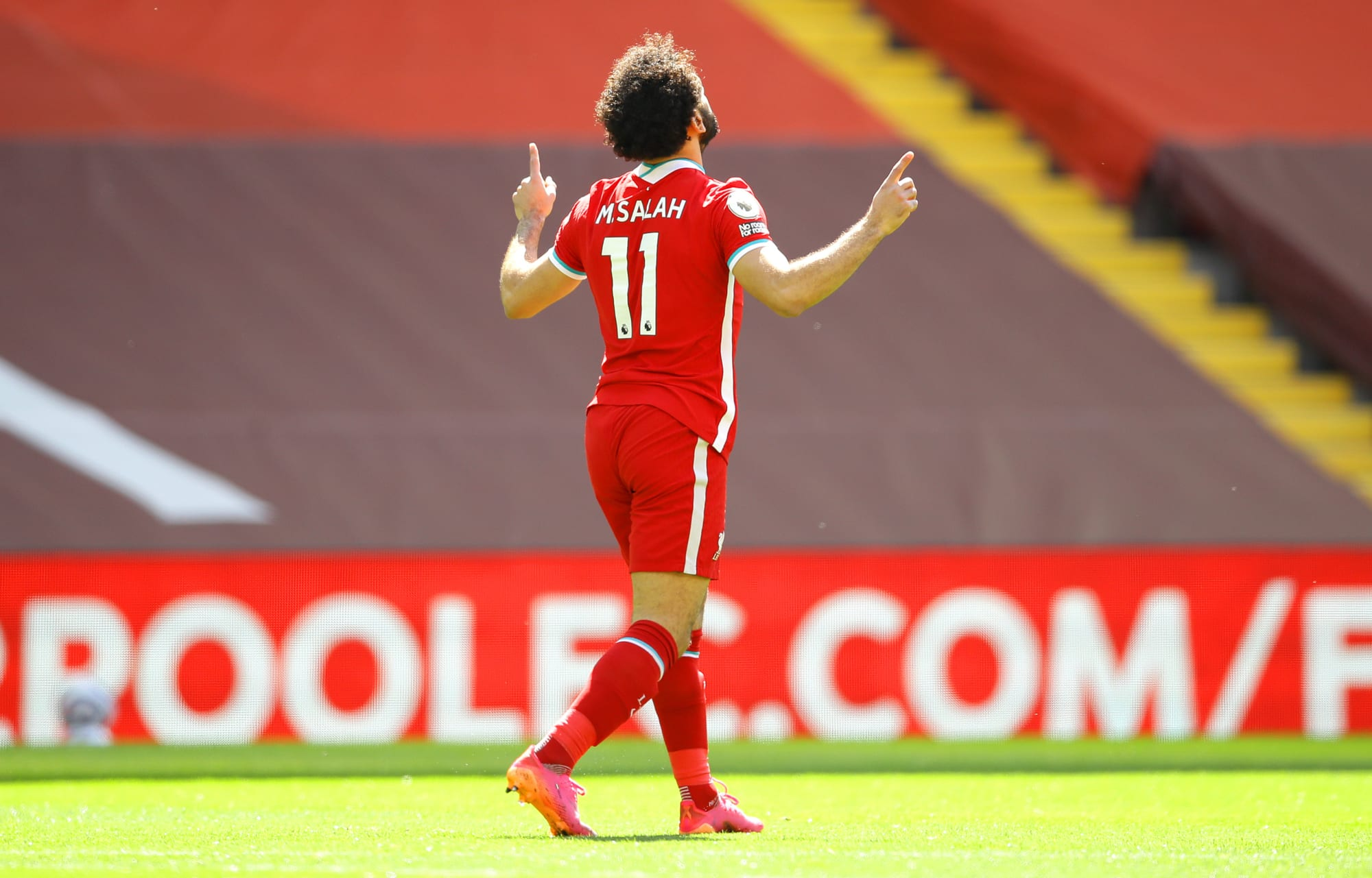 Mohamed Salah: Liverpool forward makes Premier League rival's wish list