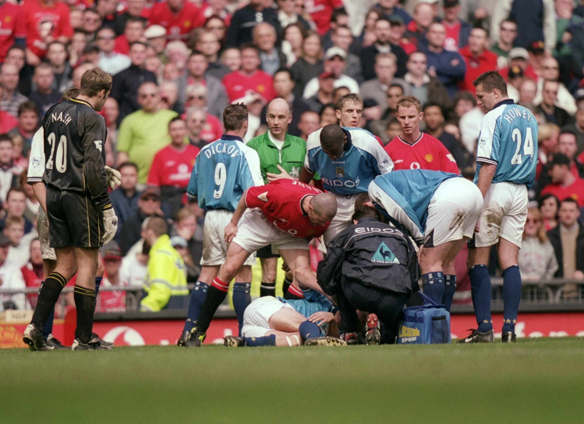 Manchester United Vs Leeds United Rivalry Blast From The Past