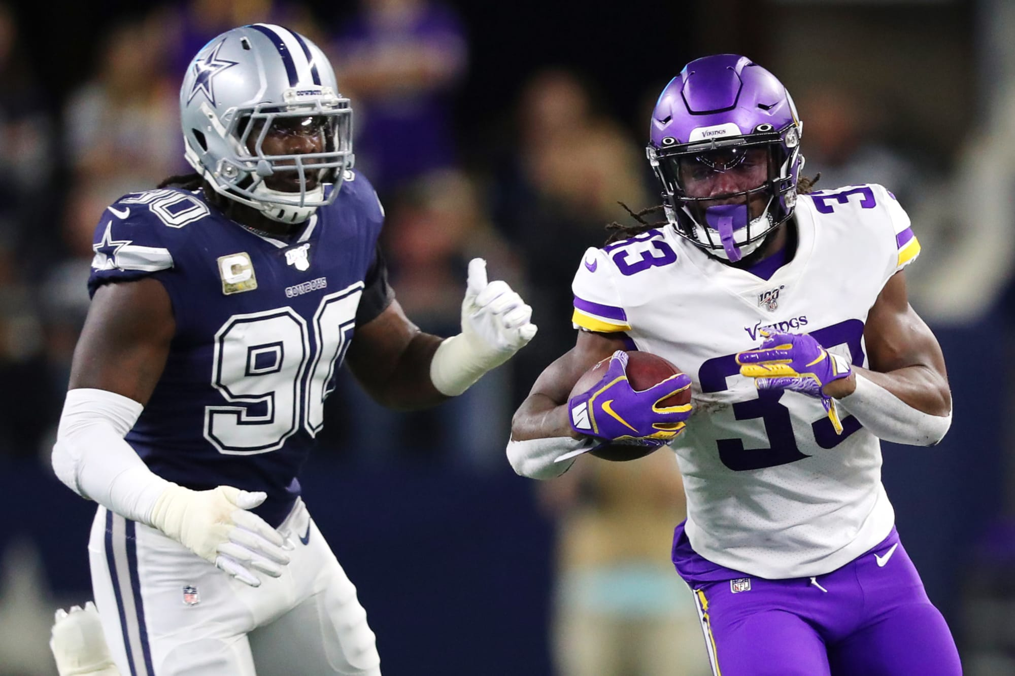 What did Dalvin Cook do better than any NFL running back in 2019?