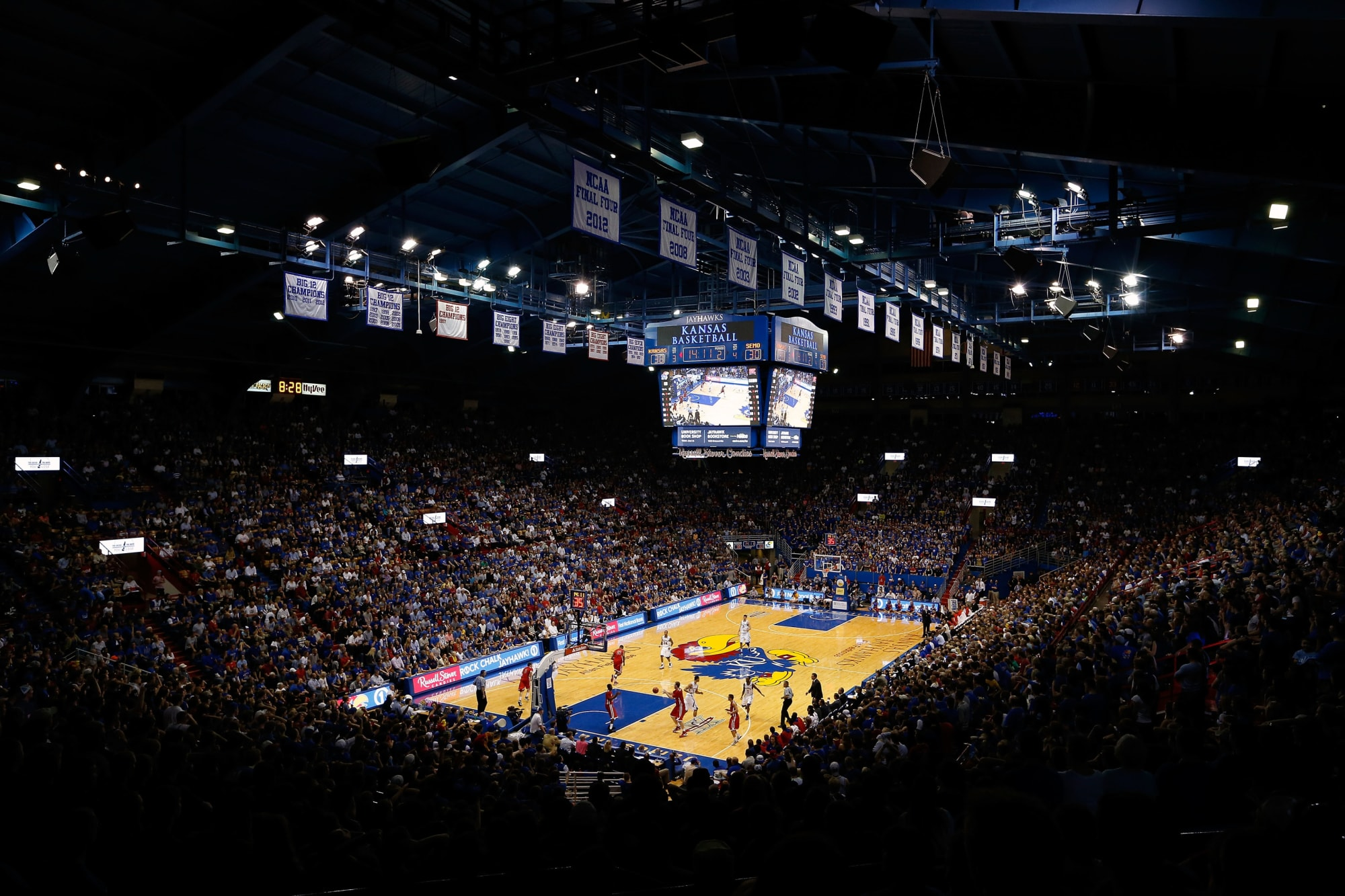 Kansas basketball: Allen Fieldhouse will run this season at limited capacity