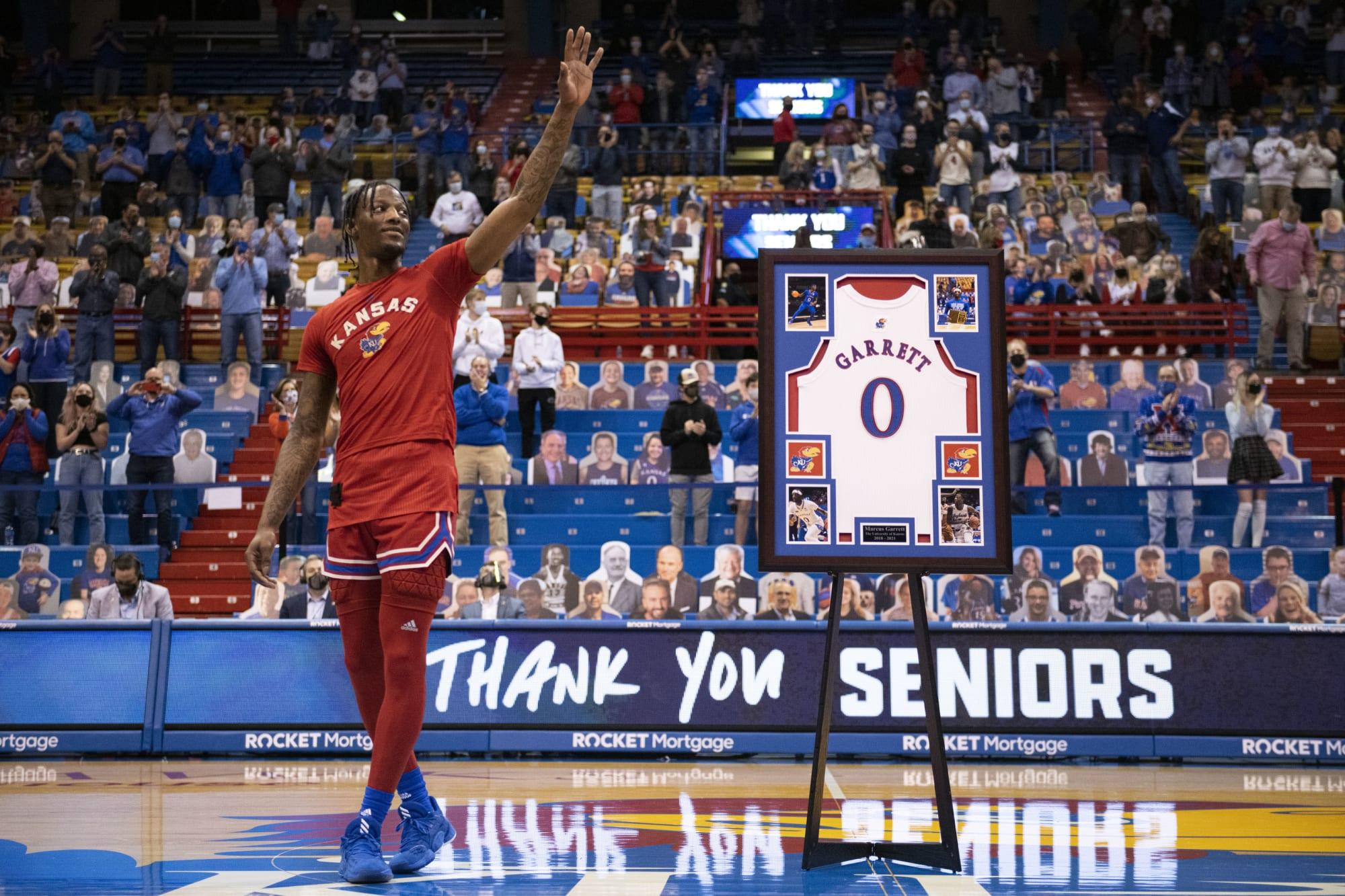 Kansas basketball's Marcus Garrett bids farewell with a major win against Baylor on Senior Night