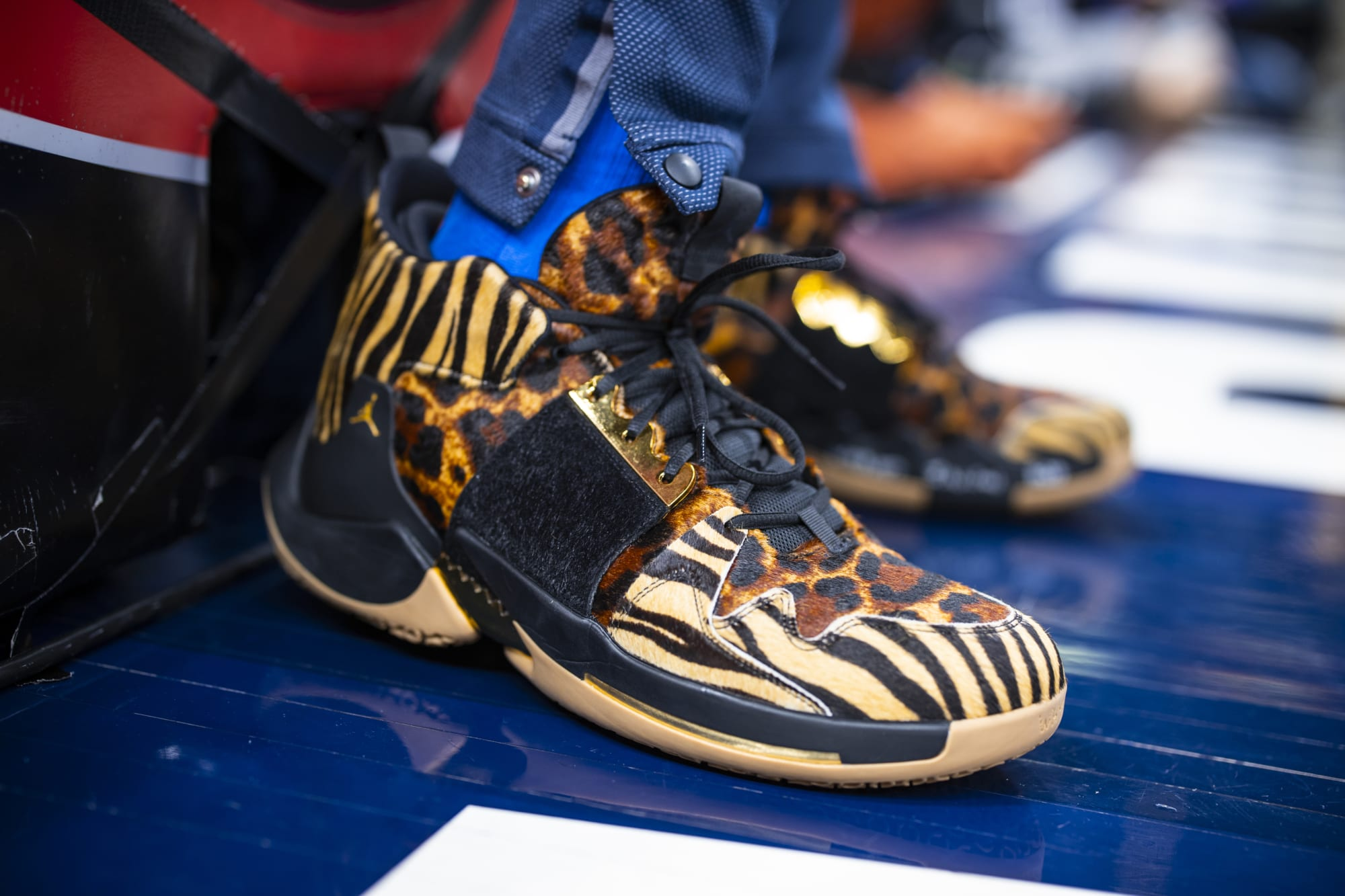 sneakers worn by OKC Thunder in 2019