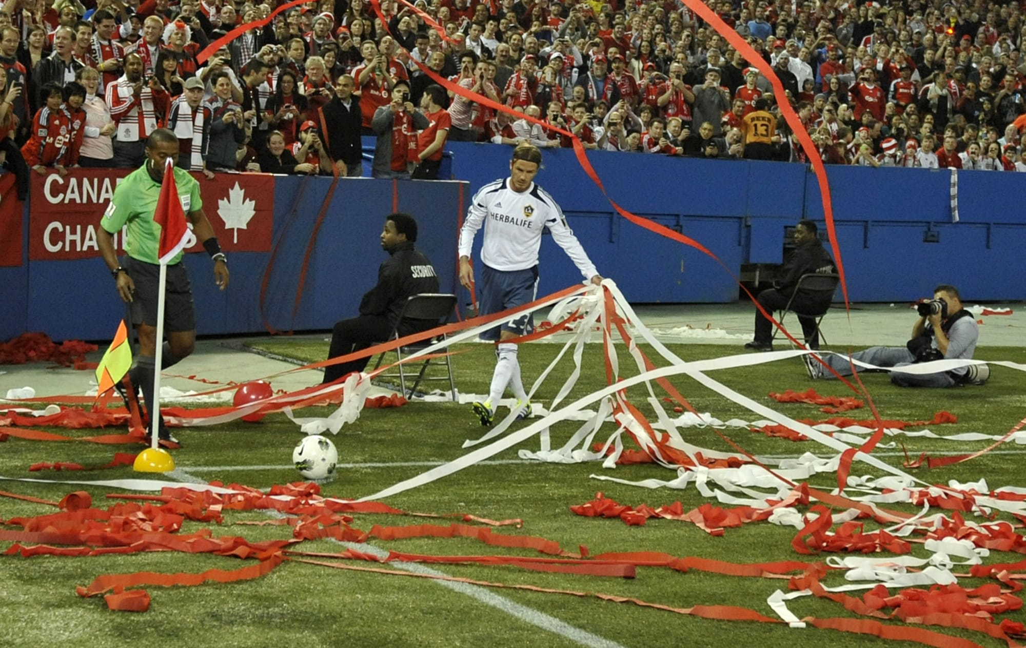 Toronto Sports: 6 times fans crossed the line (on camera)