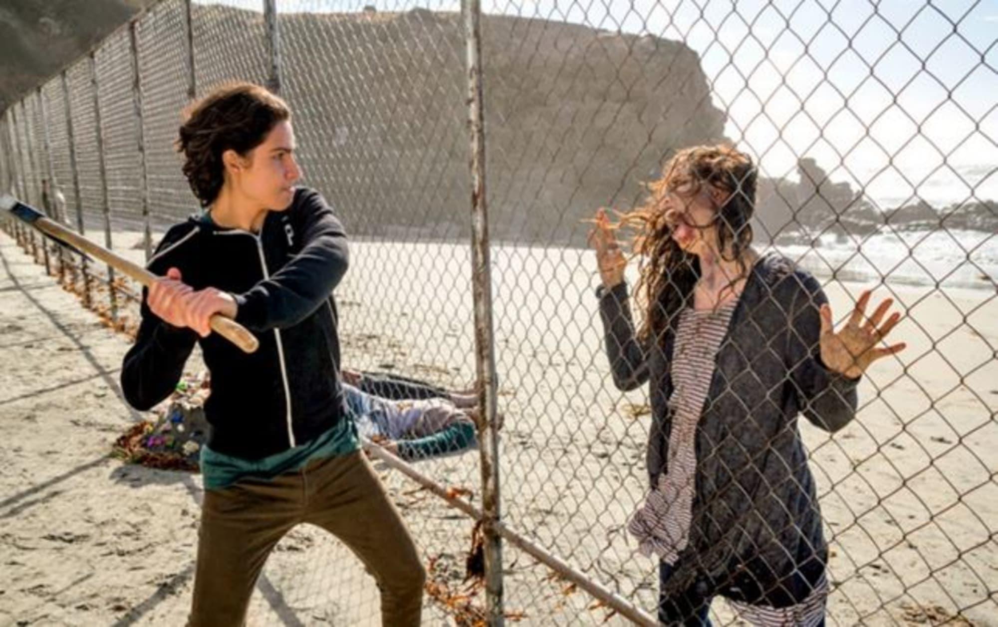 Walking Dead Pickaxe Fortnite Fear The Walking Dead Season 2 A Look Into The Anger Of Chris