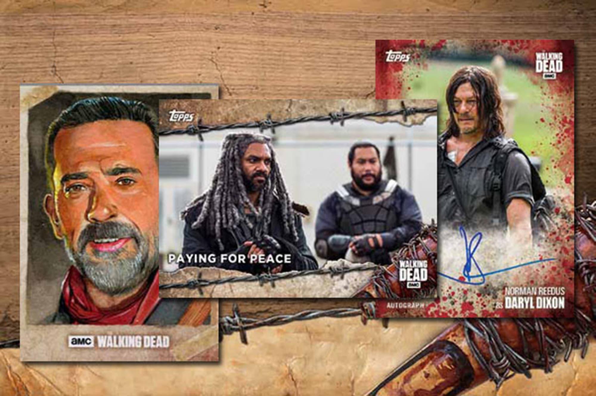 Topps The Walking Dead Season 7 Insert Trading Card CHOP-4 Daryl Dixon
