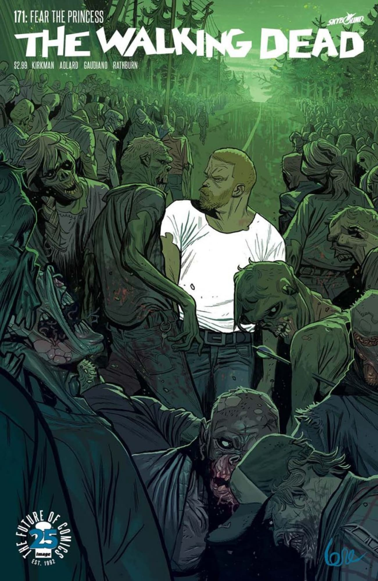 The Walking Dead 171 Variant Comic Book Cover By De Felici Announced
