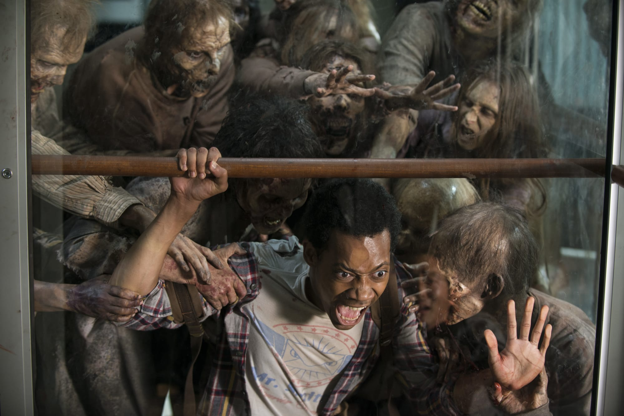 The Walking Dead alum Tyler James Williams talks about his experience