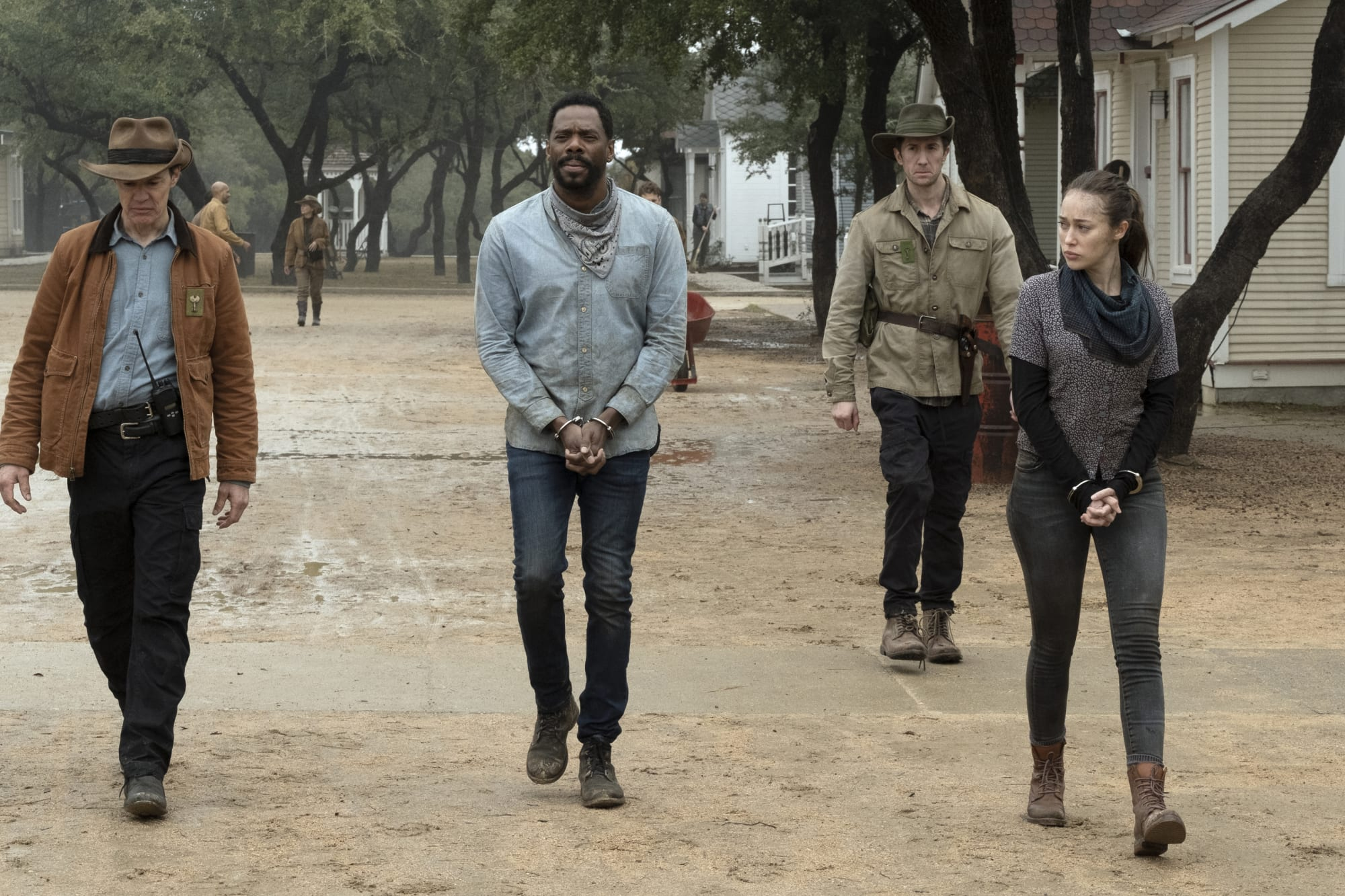 Fear TWD 602: Victor Strand is back to doing what he does best