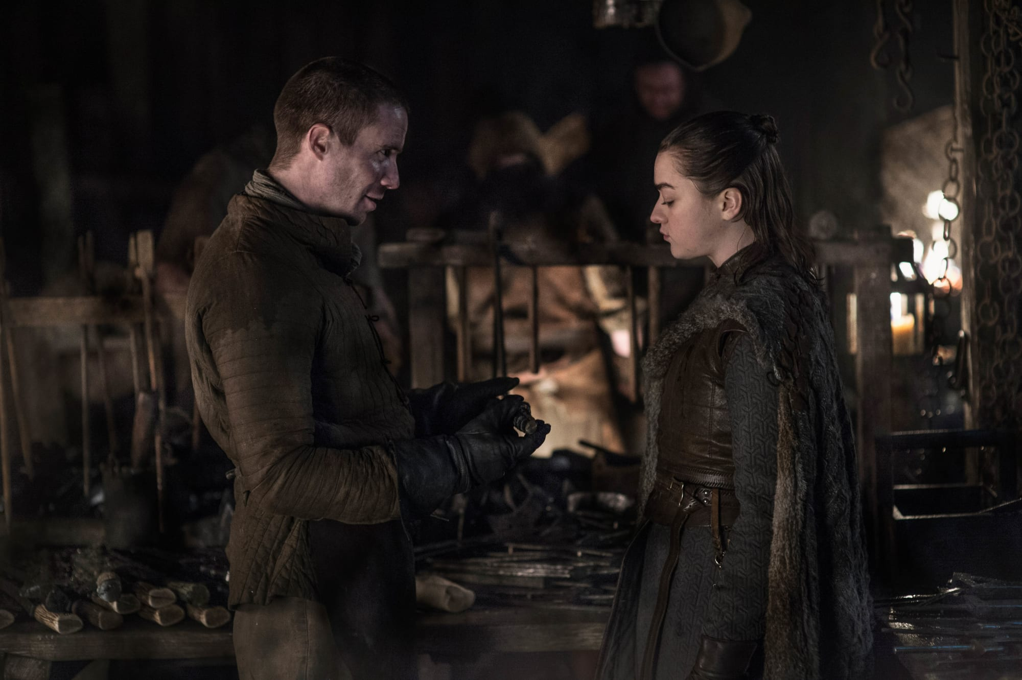 "Joe Dempsie explains why Arya and Gendry ""never would have worked"""