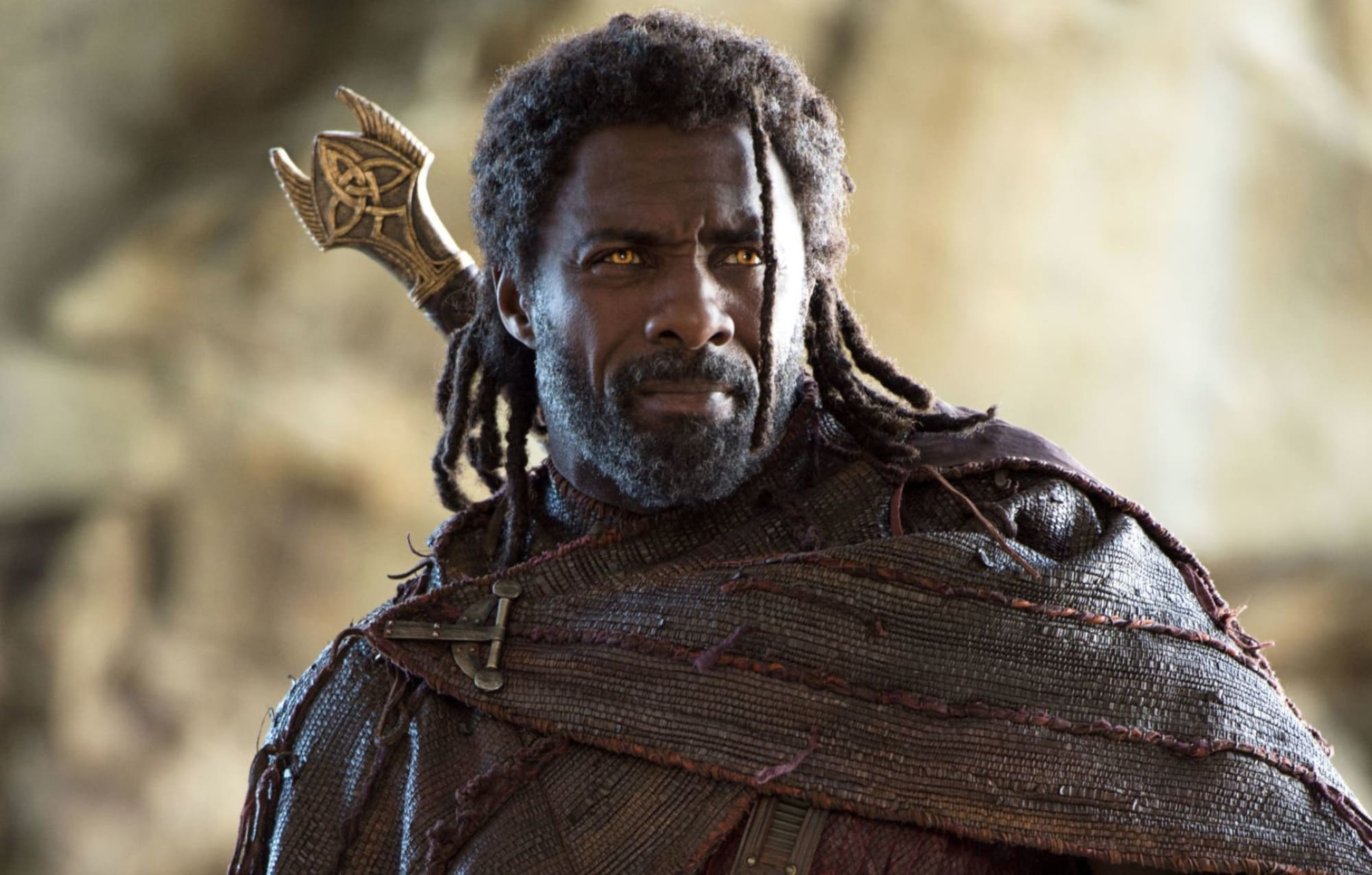 Heimdall played by Idris Elba