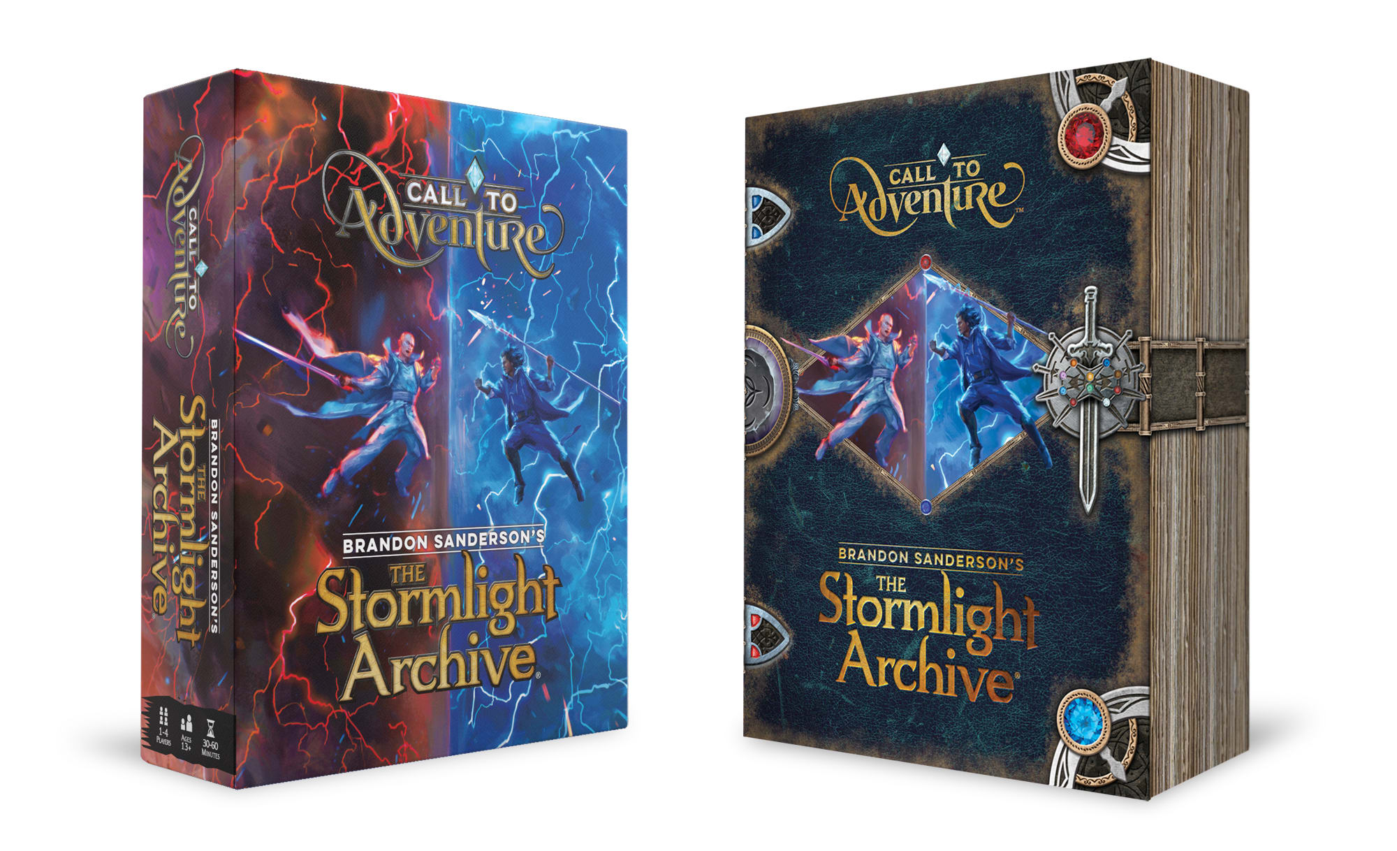 Exclusive sneak peek at the Stormlight Archive board game