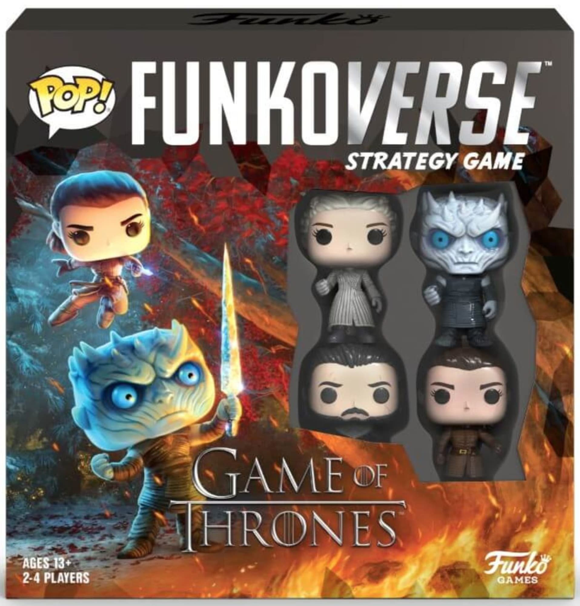 A Game of Thrones Funkoverse board game is coming