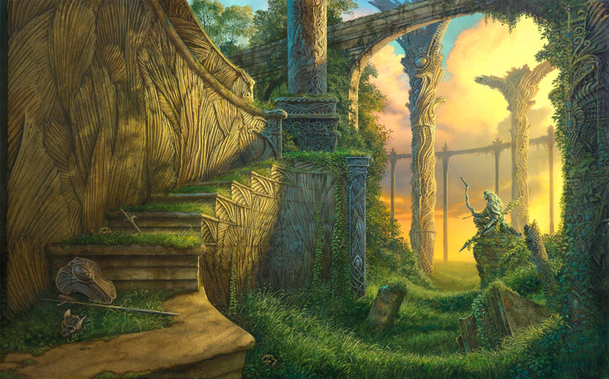 Tad Williams' new novel is the longest epic fantasy book ever…before editing