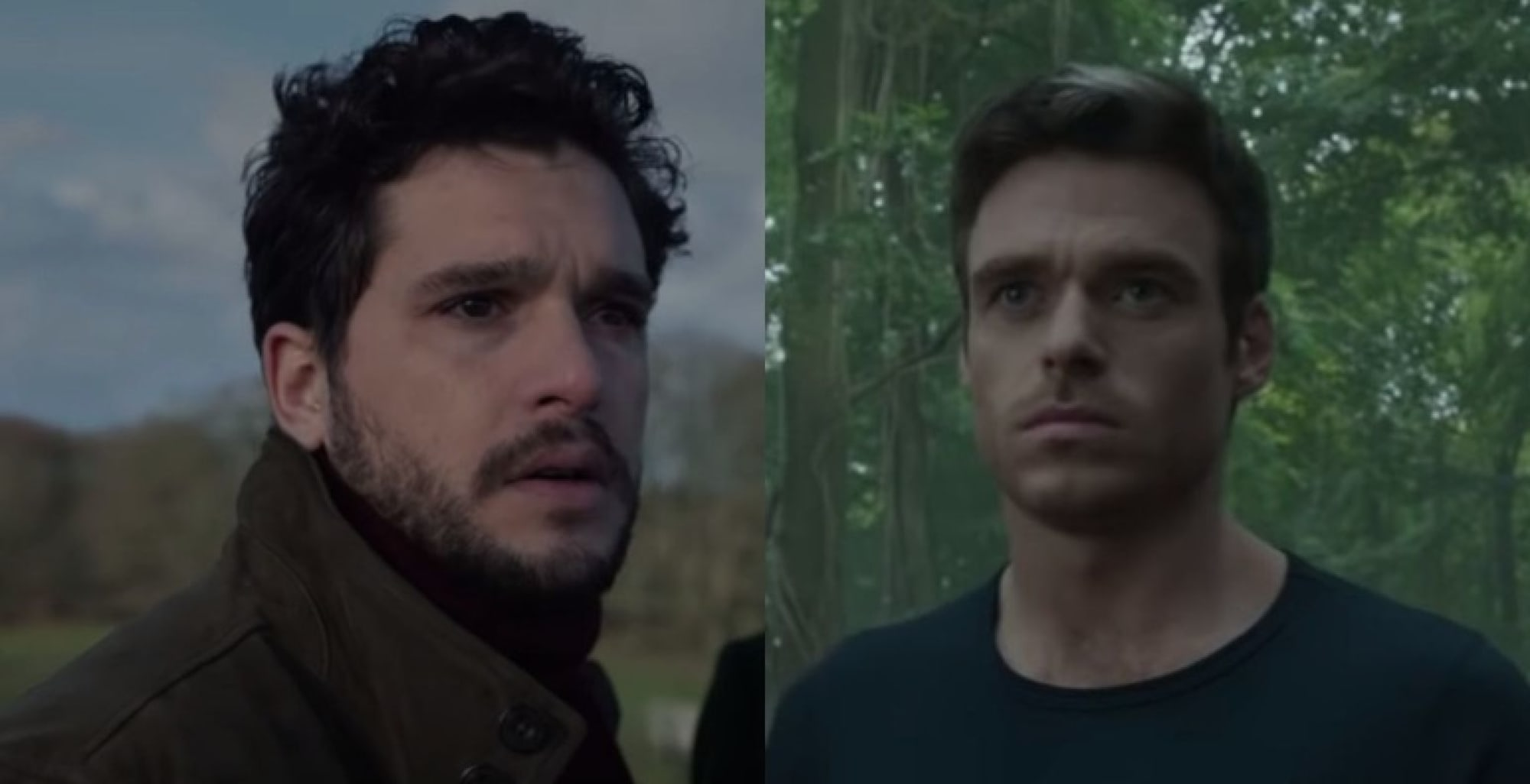 Richard Madden and Kit Harington don't interact much in Eternals