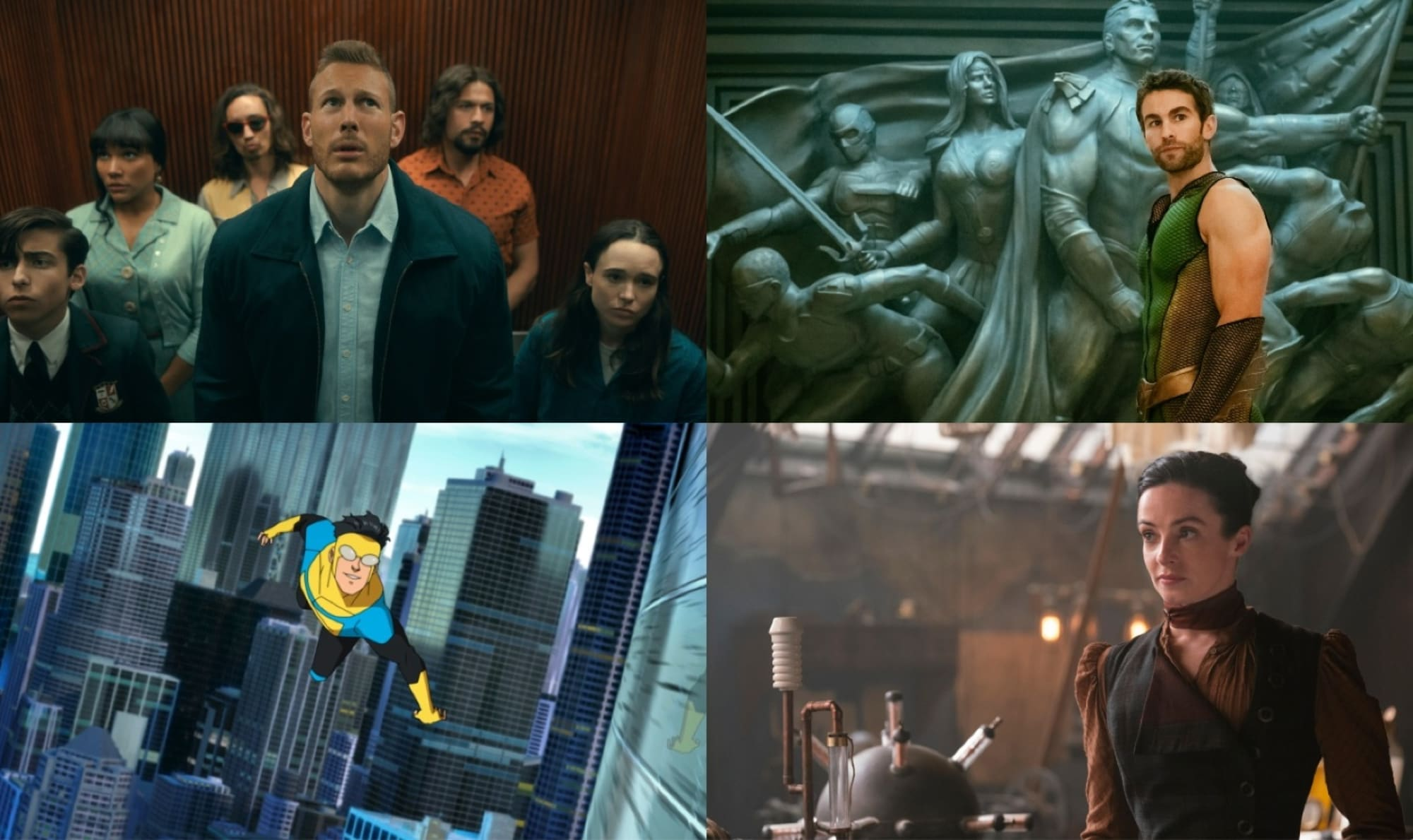 8 great superhero series that have nothing to do with Marvel or DC