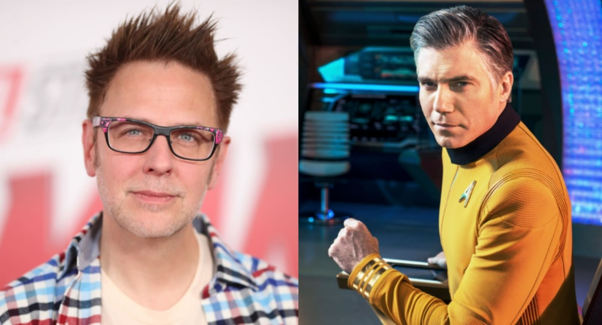 James Gunn and Anson Mount fight about actors who lie about their height