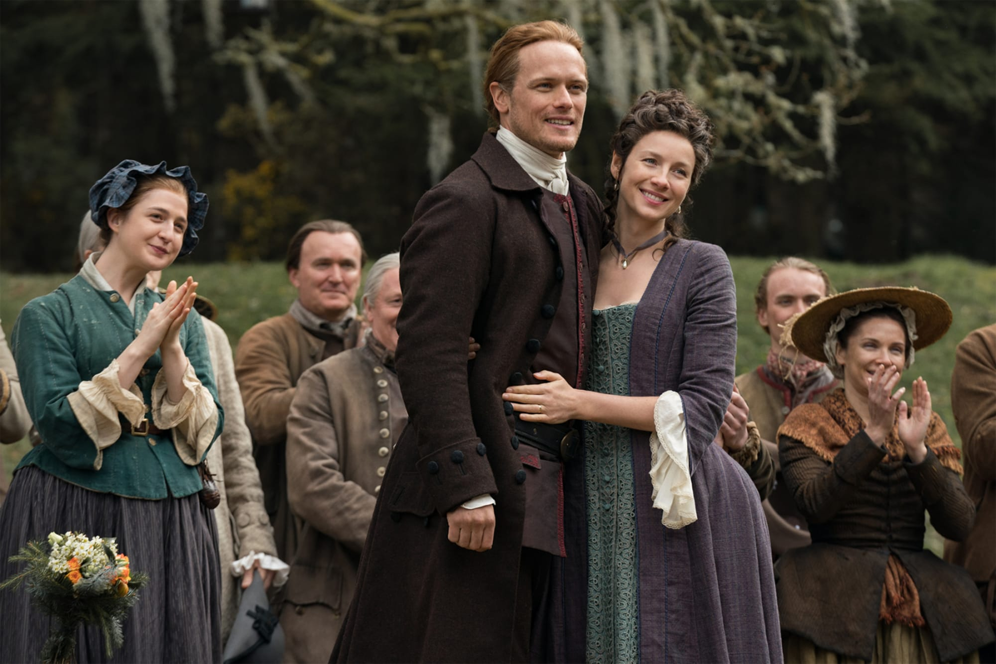 Sam Heughan invites Bollywood star Kirron Kher to Outlander set amid cancer battle