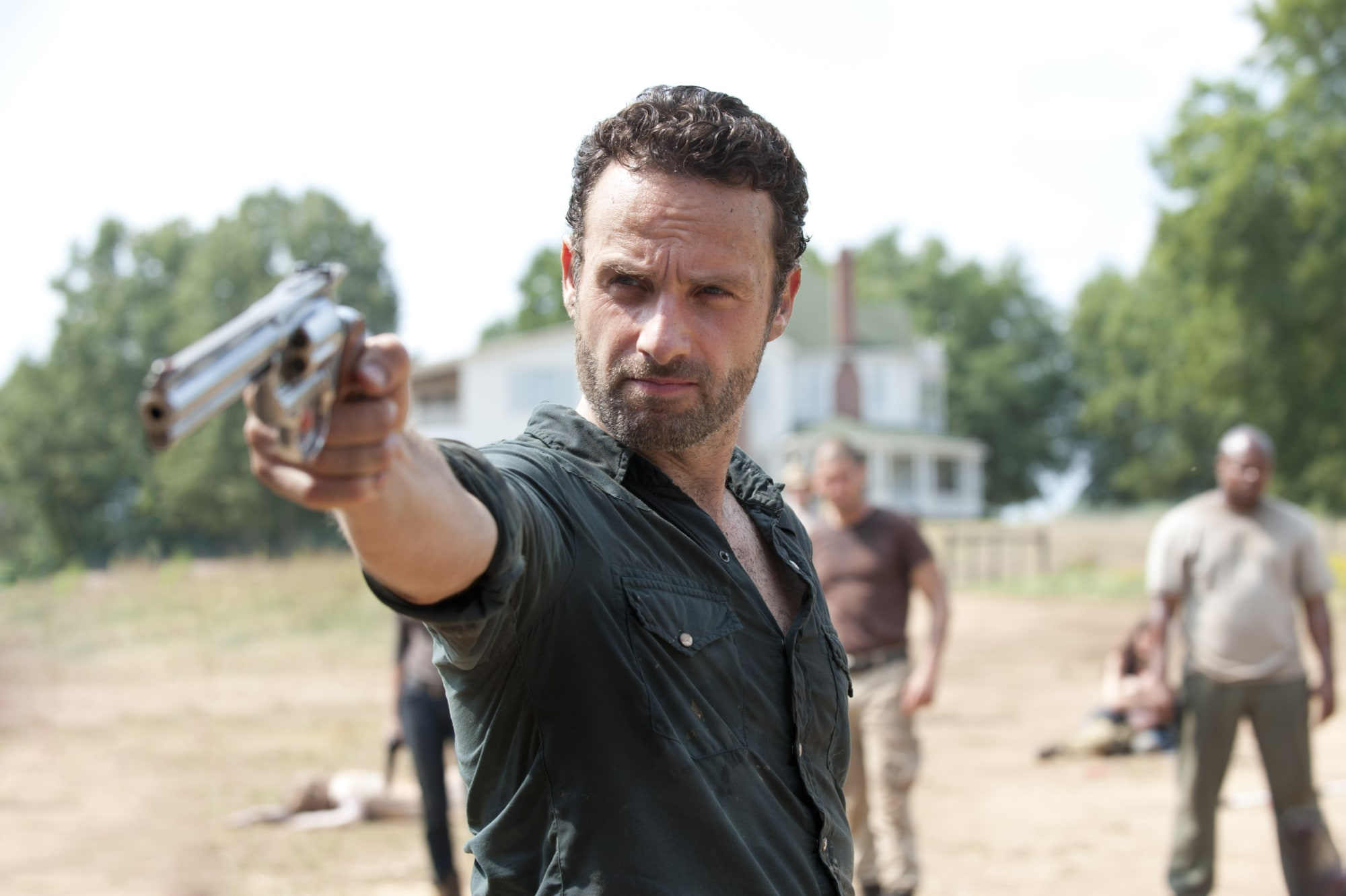 Andrew Lincoln (Rick Grimes) gives update on The Walking Dead movies