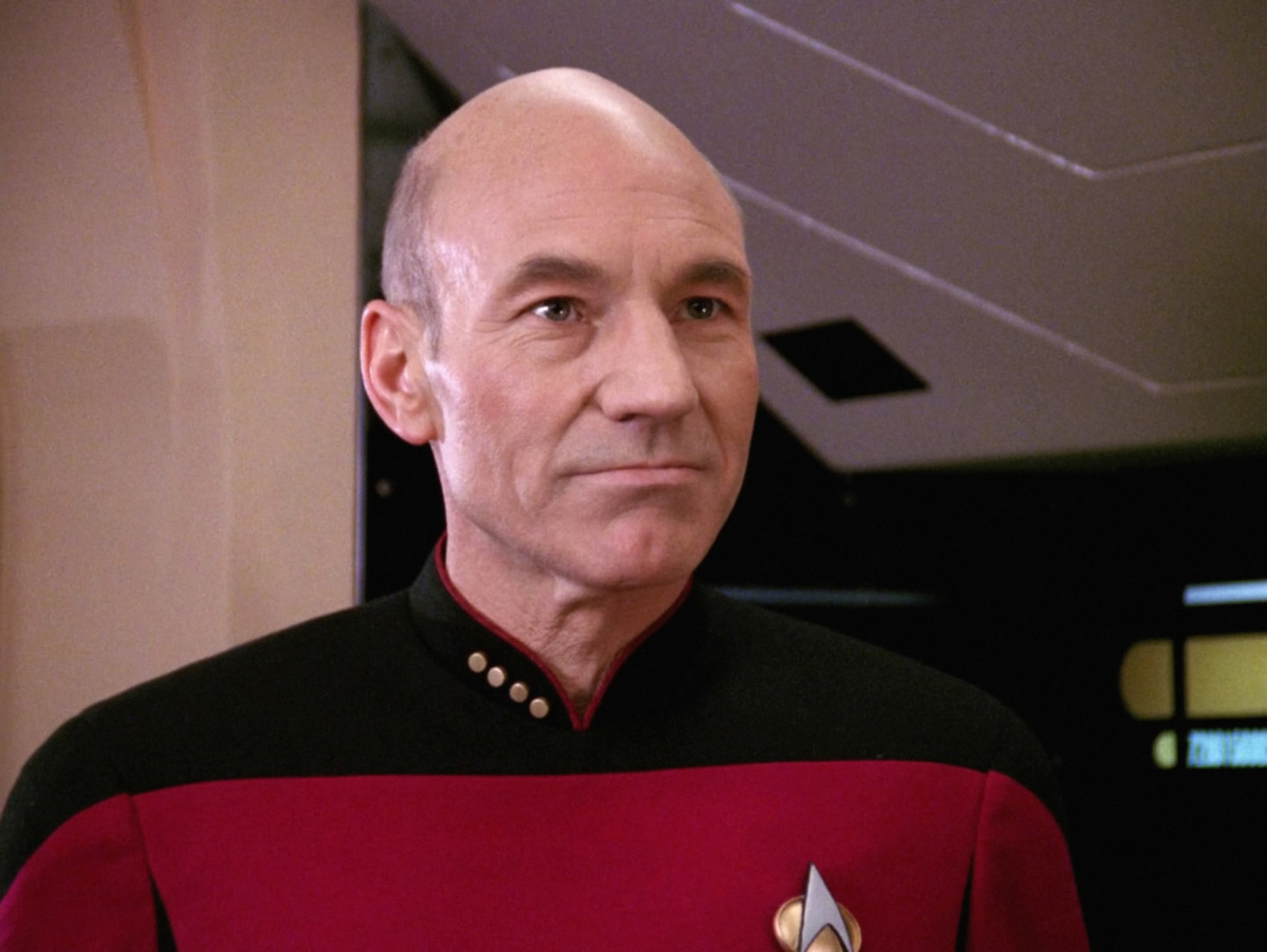 Photo: When Patrick Stewart wore a wig for his Star Trek audition