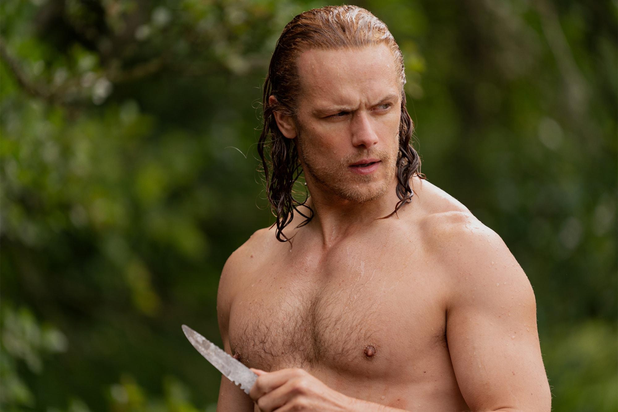 Sam Heughan S Top 10 Best Moments As Jamie Fraser On Outlander