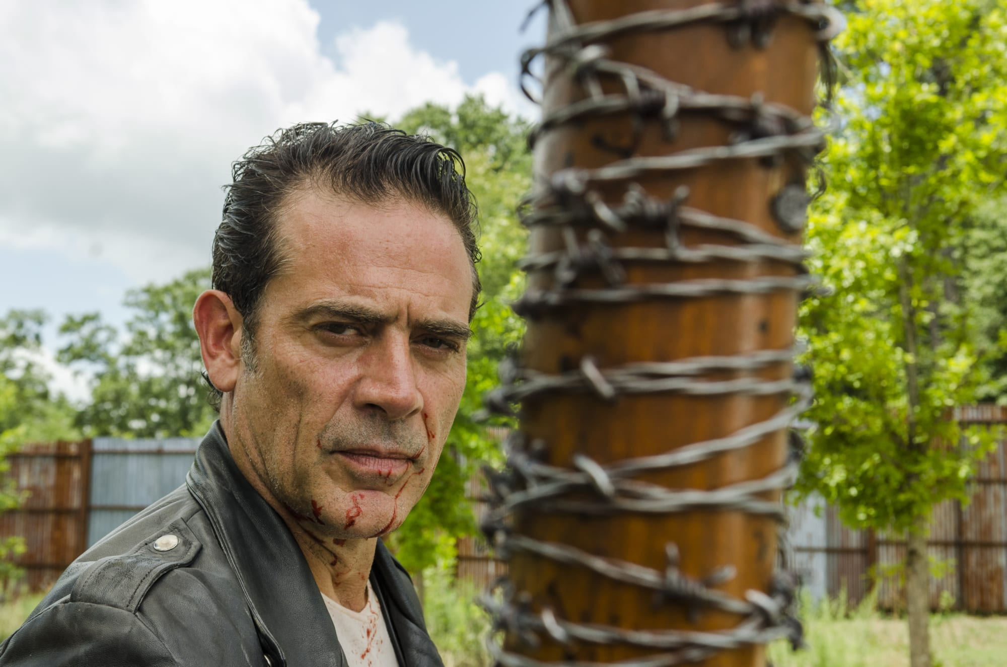 The Walking Dead releases new image of Negan and his wife Lucille