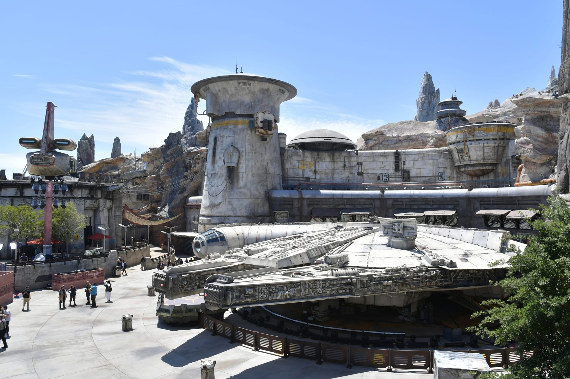 Star Wars: Galaxy's Edge was originally going to feature Mos Eisley spaceport